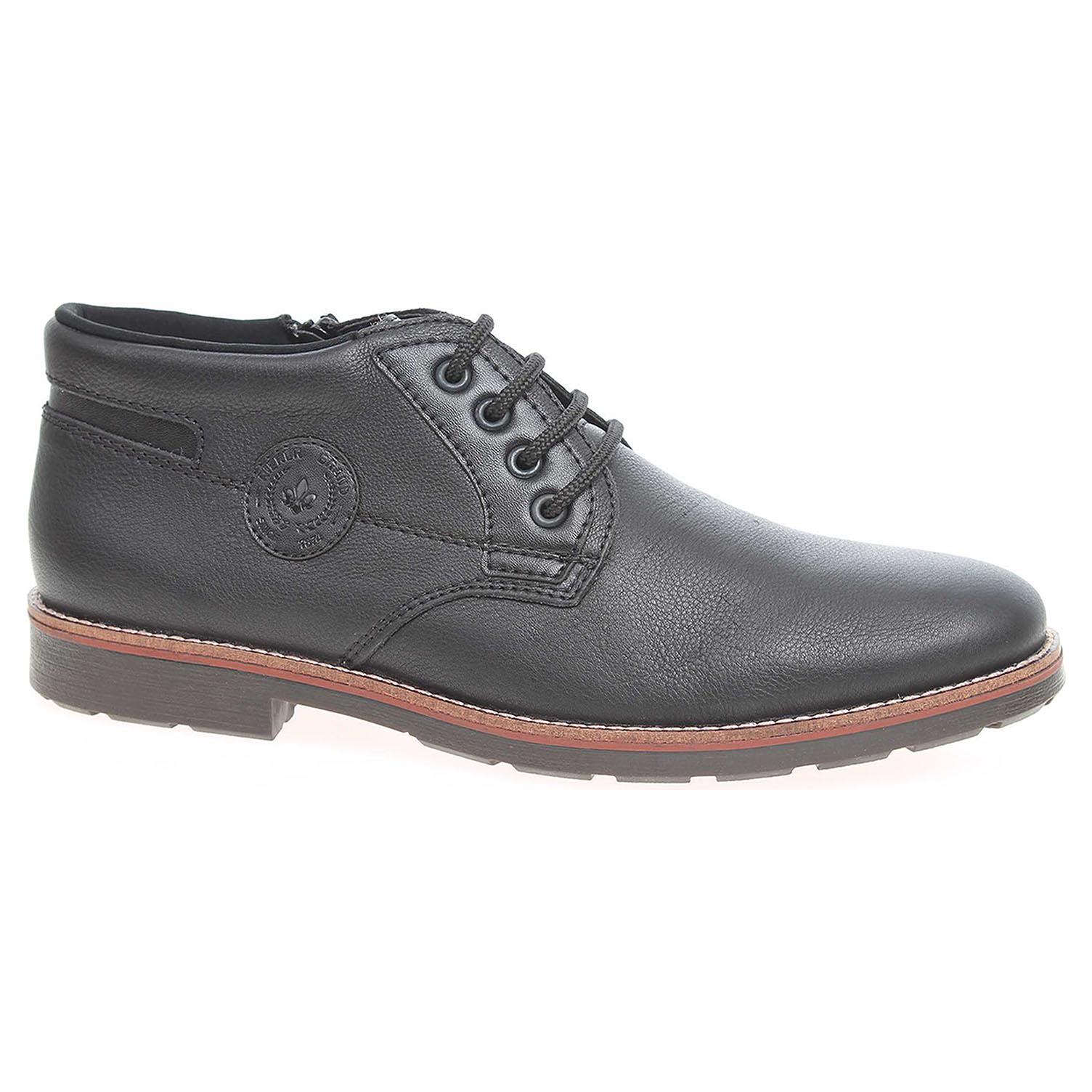 Pánská kotníková obuv Rieker 15339-00 černé 15339-00 44