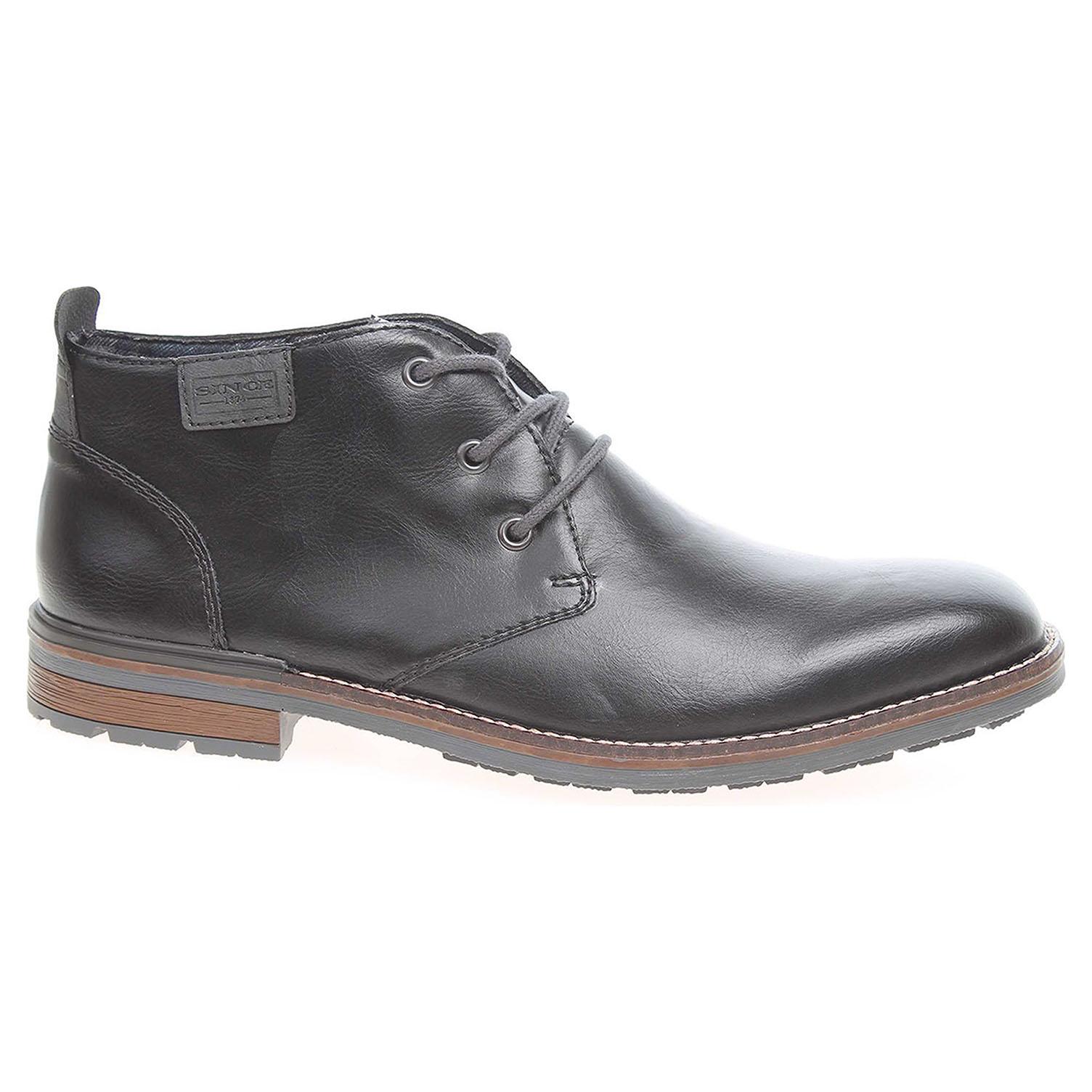 Pánská kotníková obuv Rieker B1340-00 černé B1340-00 42