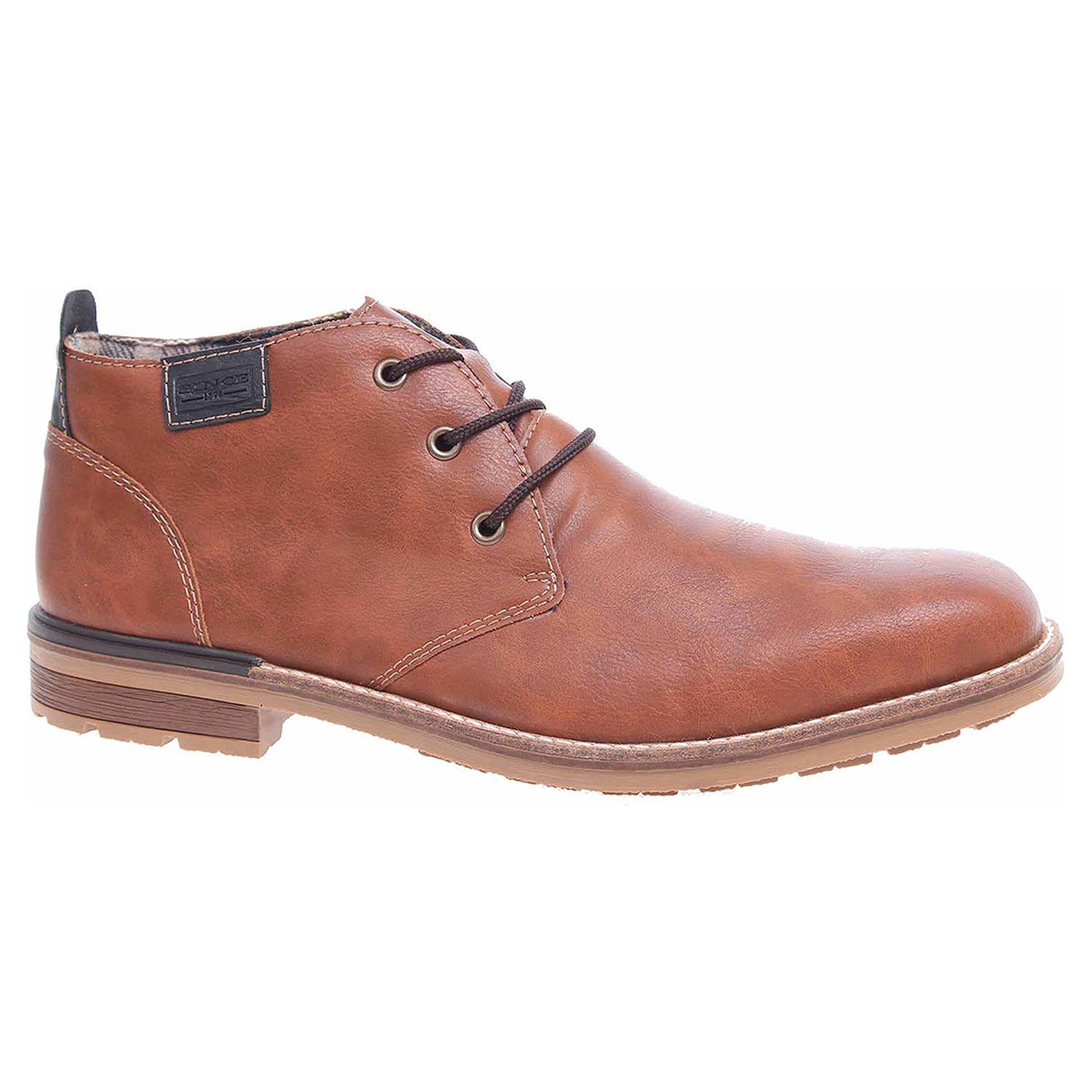 Pánská kotníková obuv Rieker B1340-22 hnědé B1340-22 45