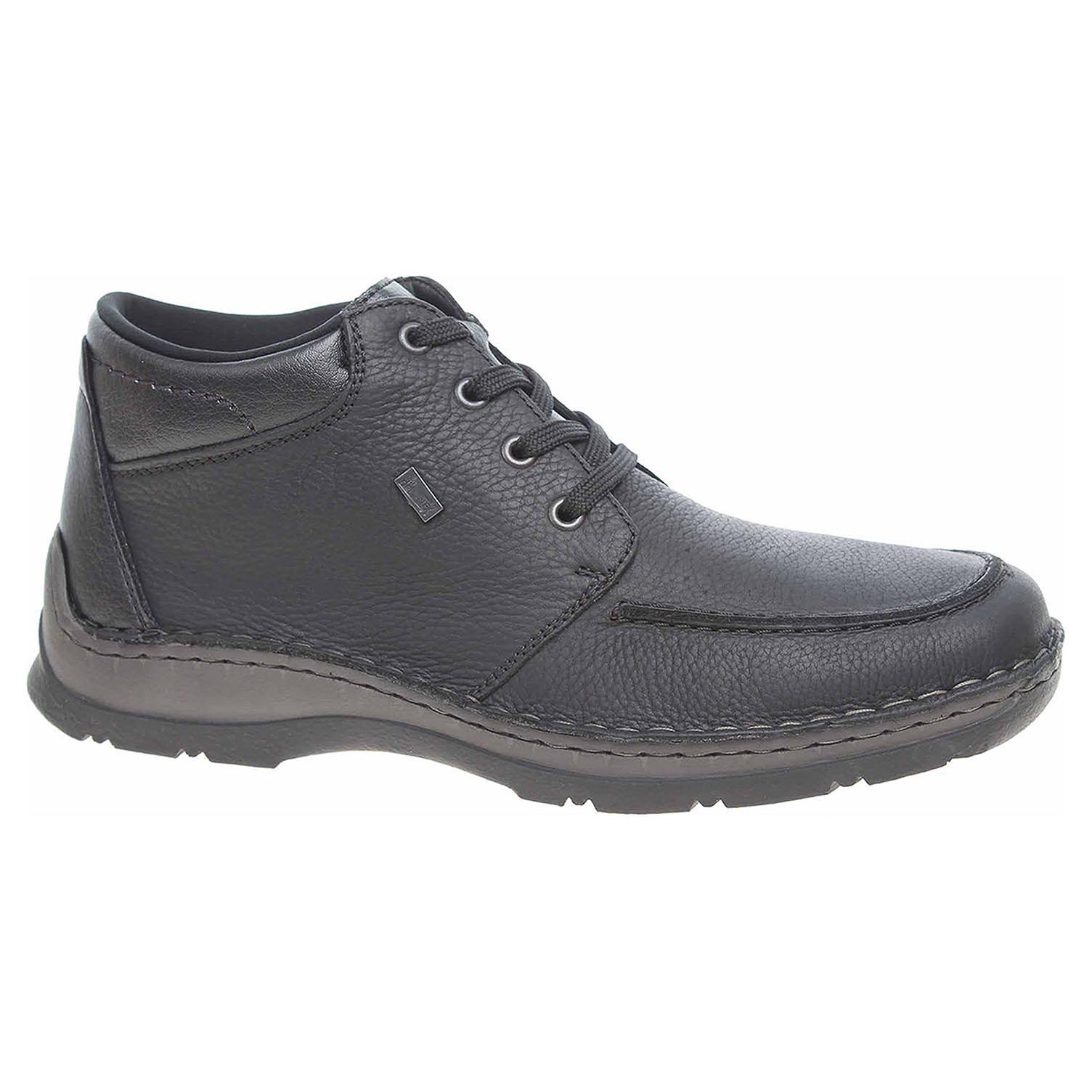 Pánská kotníková obuv Rieker 05332-01 černé 05332-01 45