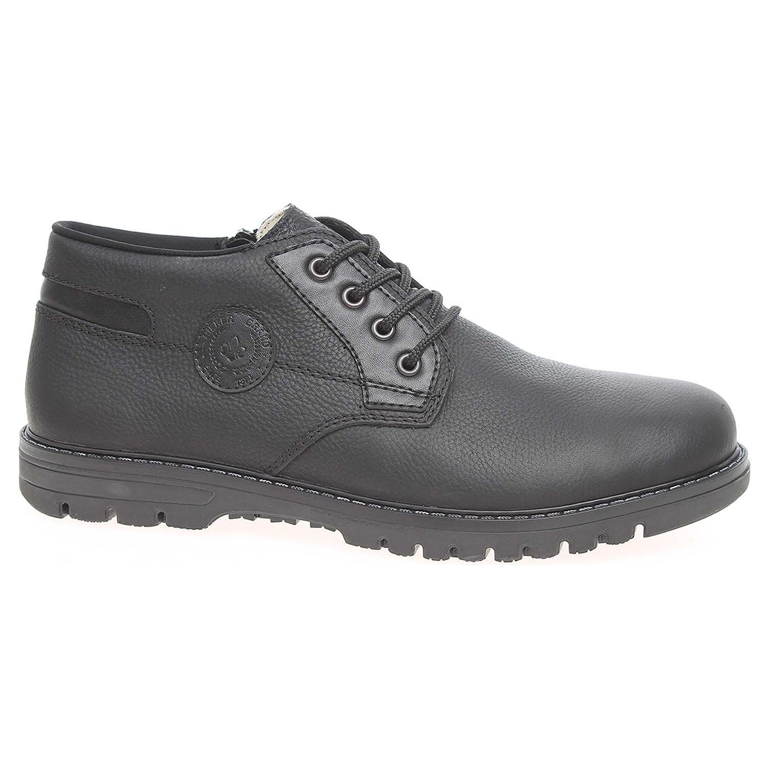 Pánská kotníková obuv Rieker B3139-00 černé B3139-00 45