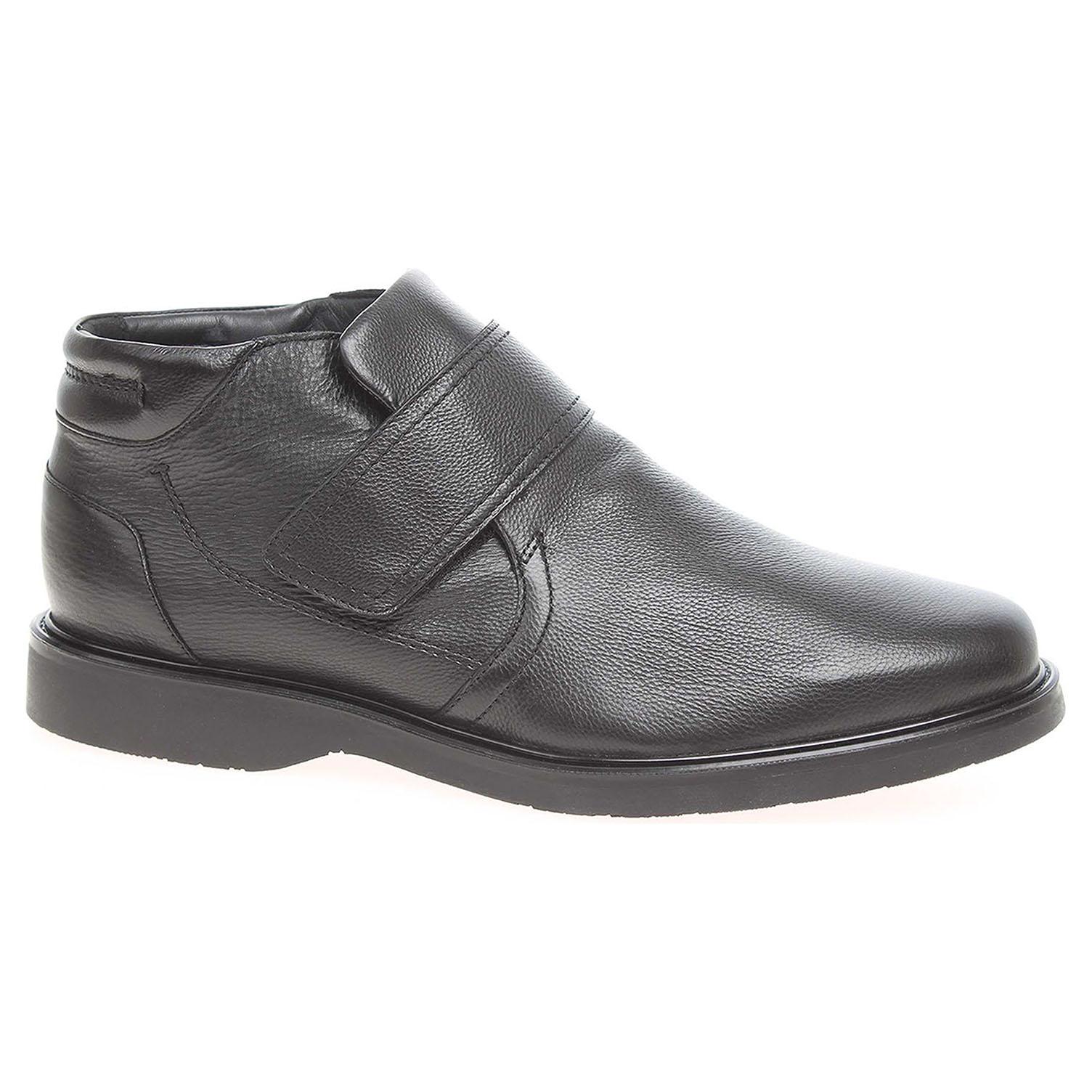 Pánská kotníková obuv Salamander 31-68304-01 černé 31-68304-01 46
