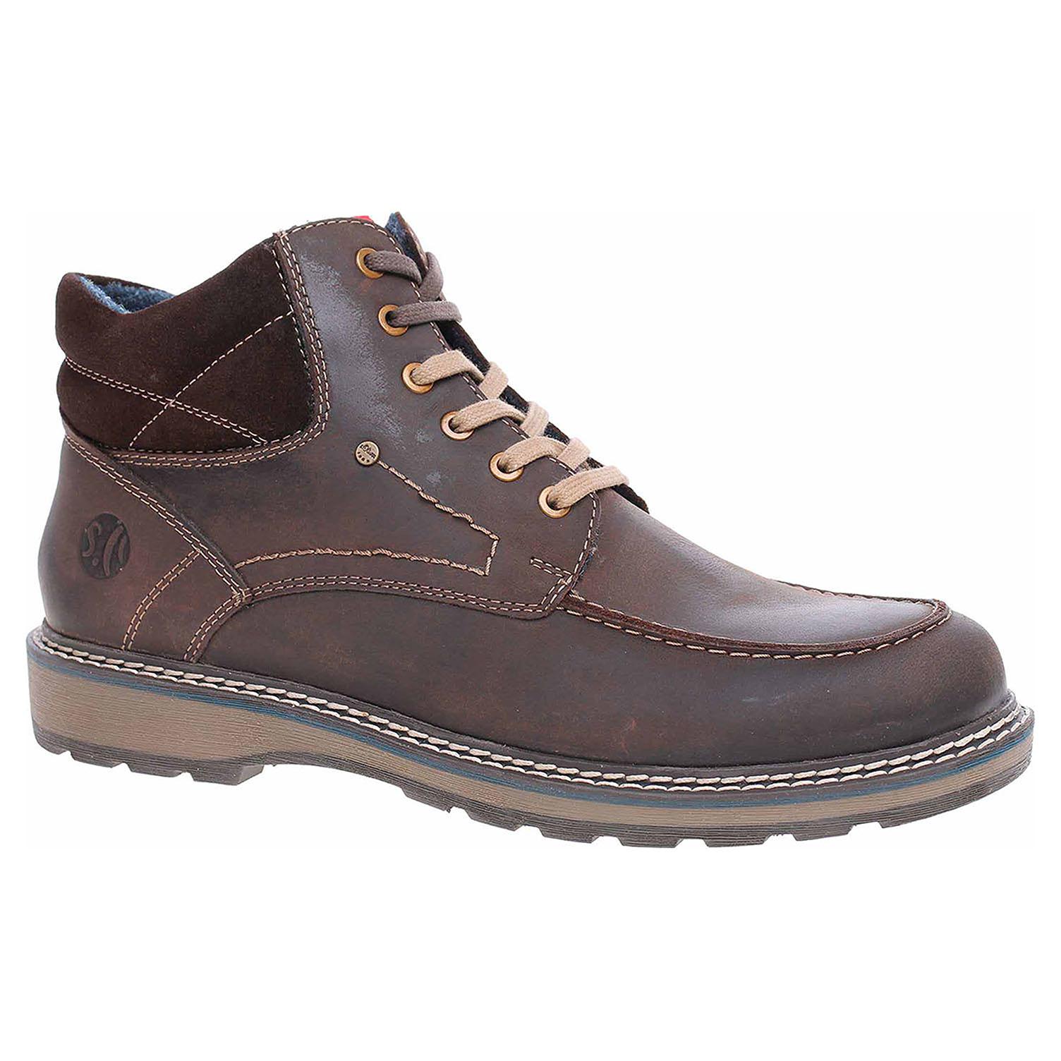 Pánská kotníková obuv s.Oliver 5-15217-21 coffee 5-5-15217-21 367 45