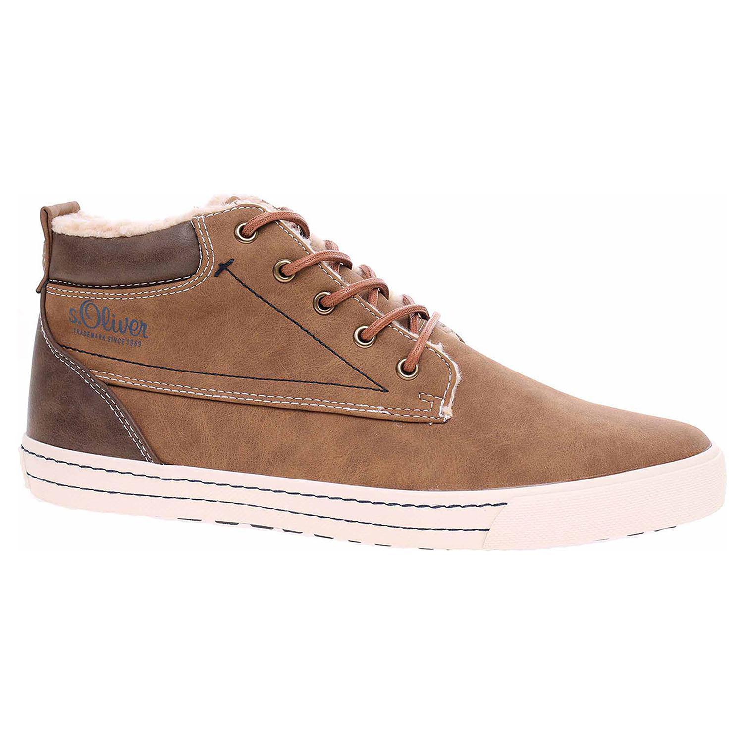 Pánská kotníková obuv s.Oliver 5-16206-21 cognac 5-5-16206-21 305 41