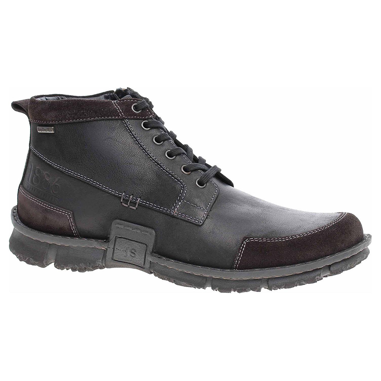 Pánská kotníková obuv Josef Seibel 14531 MA920100 schwarz 14531 MA920100 47