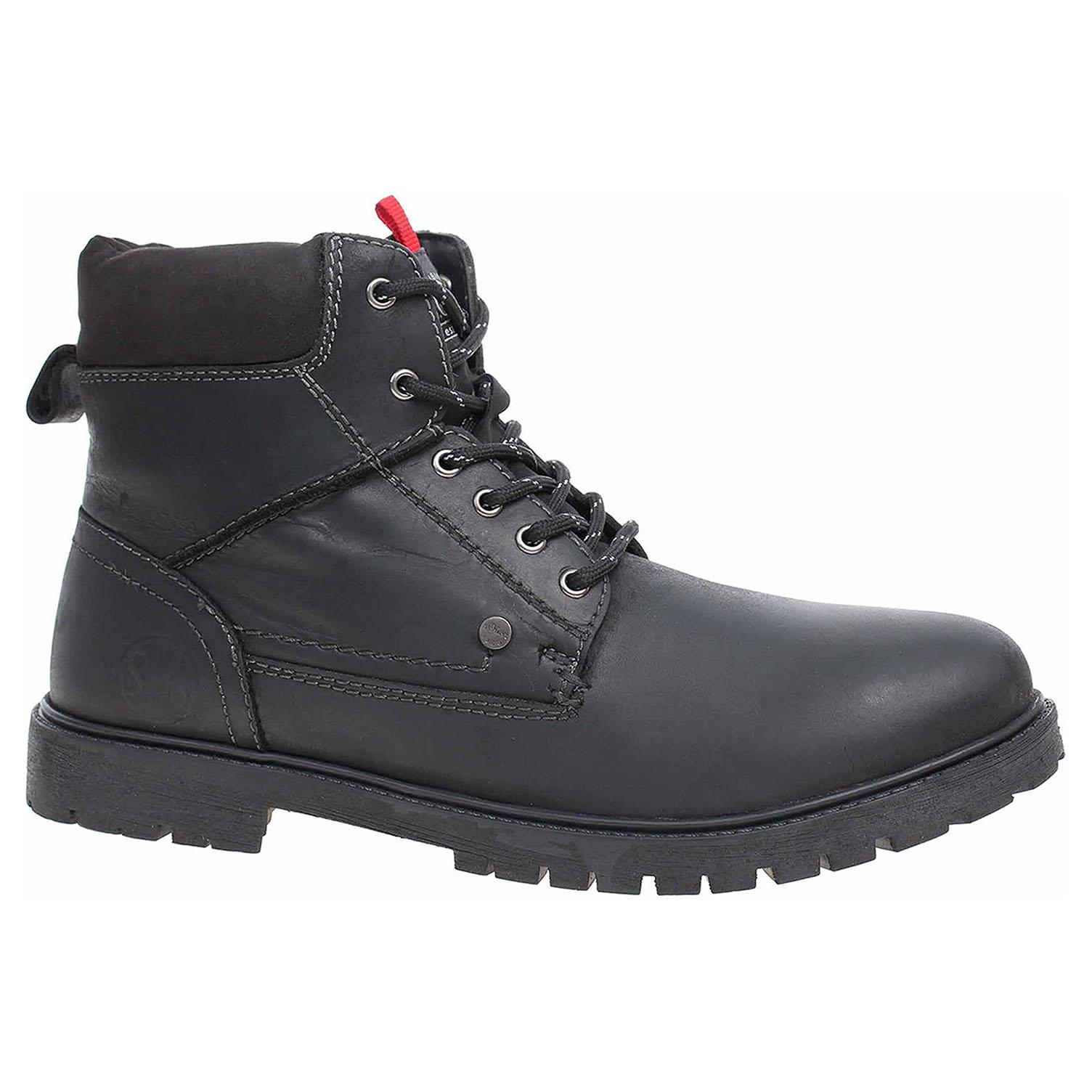 Pánská kotníková obuv s.Oliver 5-15218-21 black 5-5-15218-21 001 43