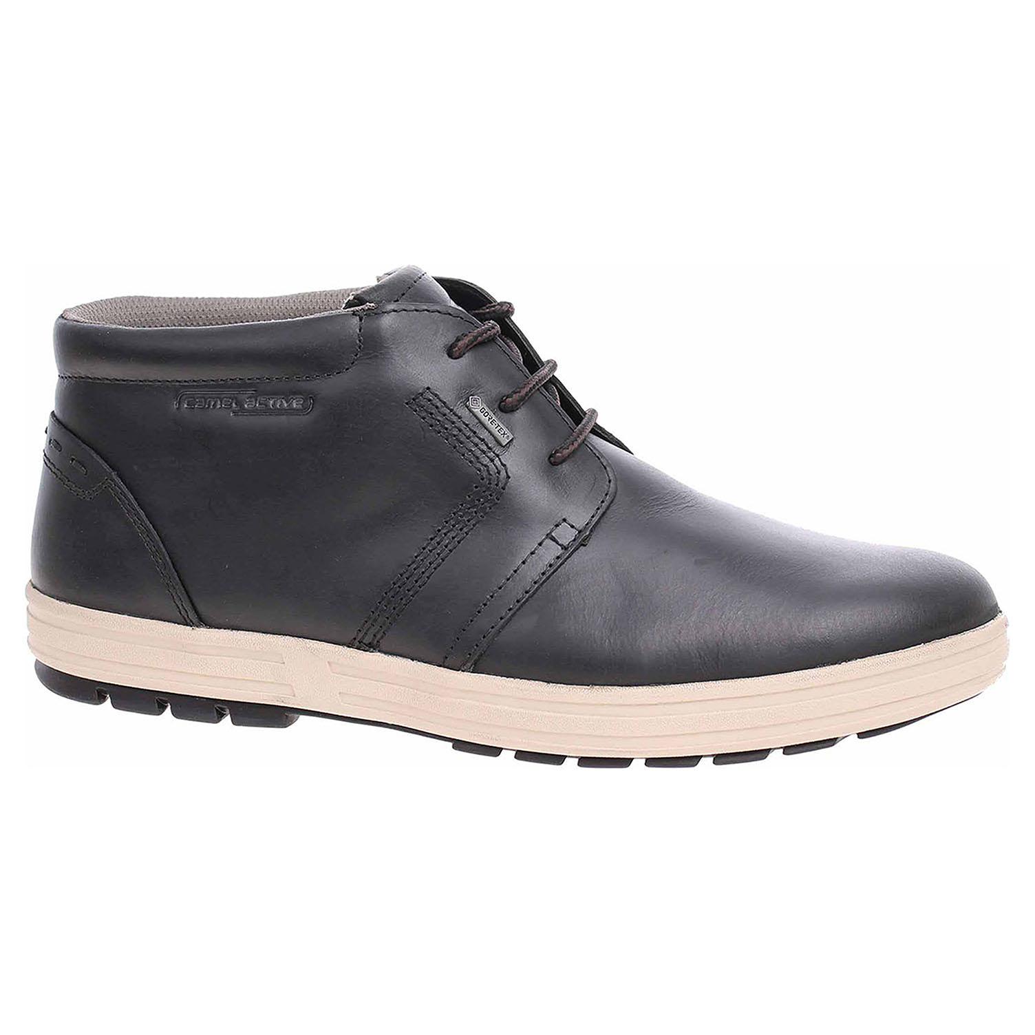 Pánská kotníková obuv Camel Active 395.44.11 black 395.44.11 42,5