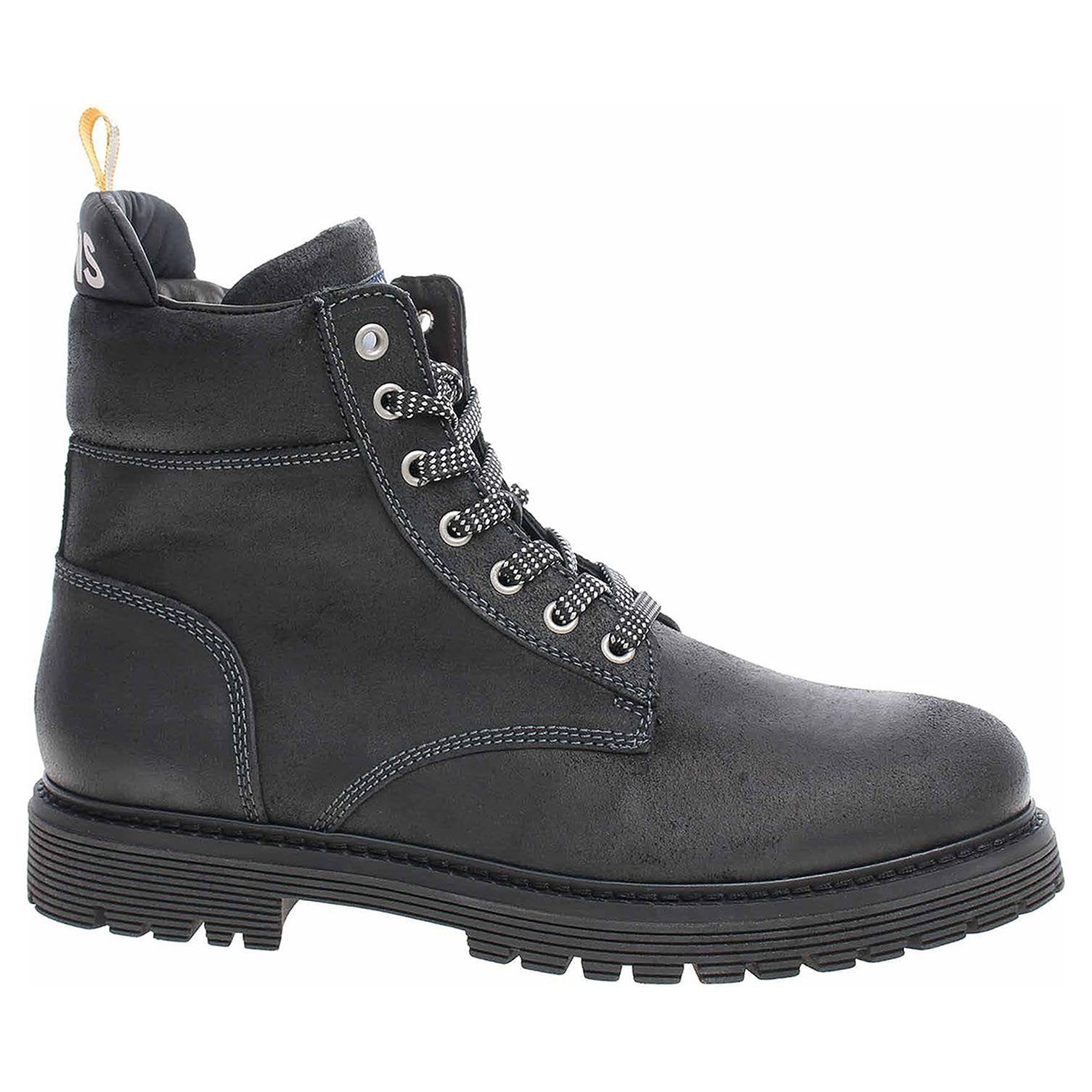 Pánská kotníková obuv Tommy Hilfiger EM0EM00317 008 magnet EM0EM00317 008 41