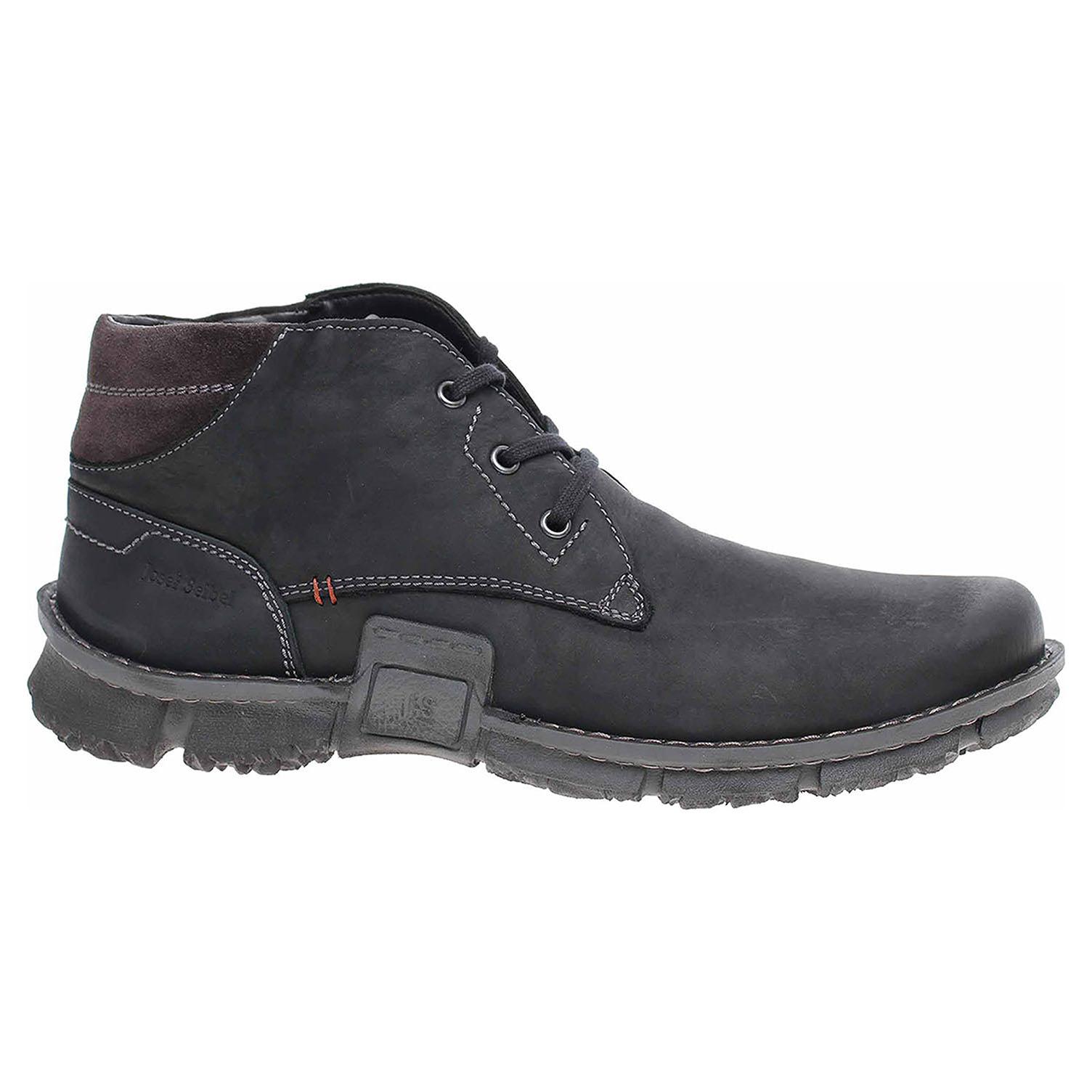 Pánská kotníková obuv Josef Seibel 14147 PL994101 schwarz-kombi 14147 PL994101 41