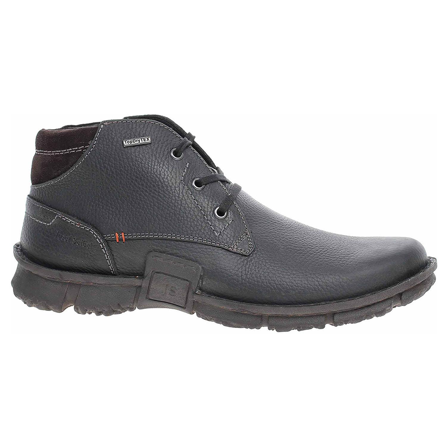 Pánská kotníková obuv Josef Seibel 14535 MA781100 schwarz 14535 MA781 100 42