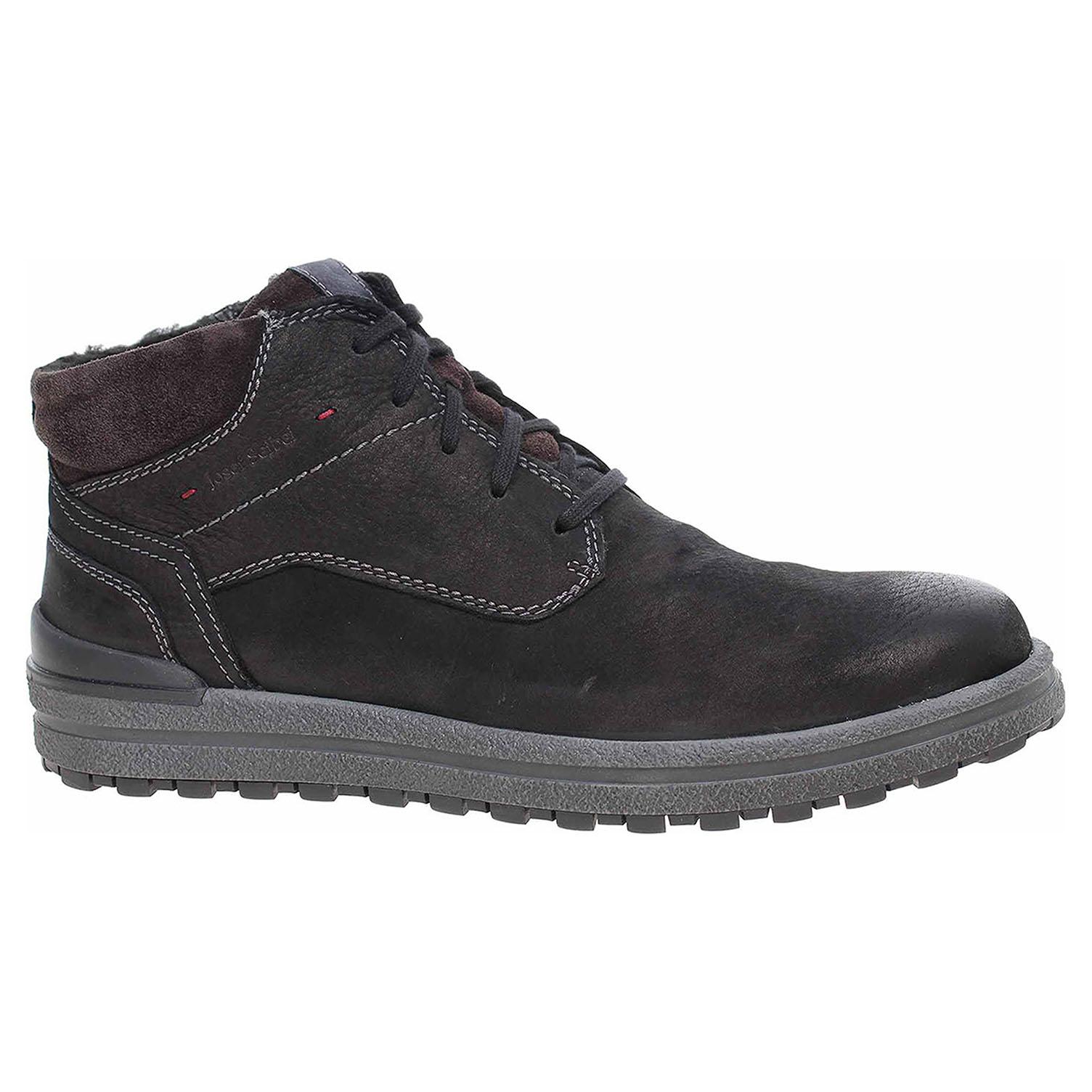 Pánská kotníková obuv Josef Seibel 15525 PL796100 schwarz 15525 PL796 100 42