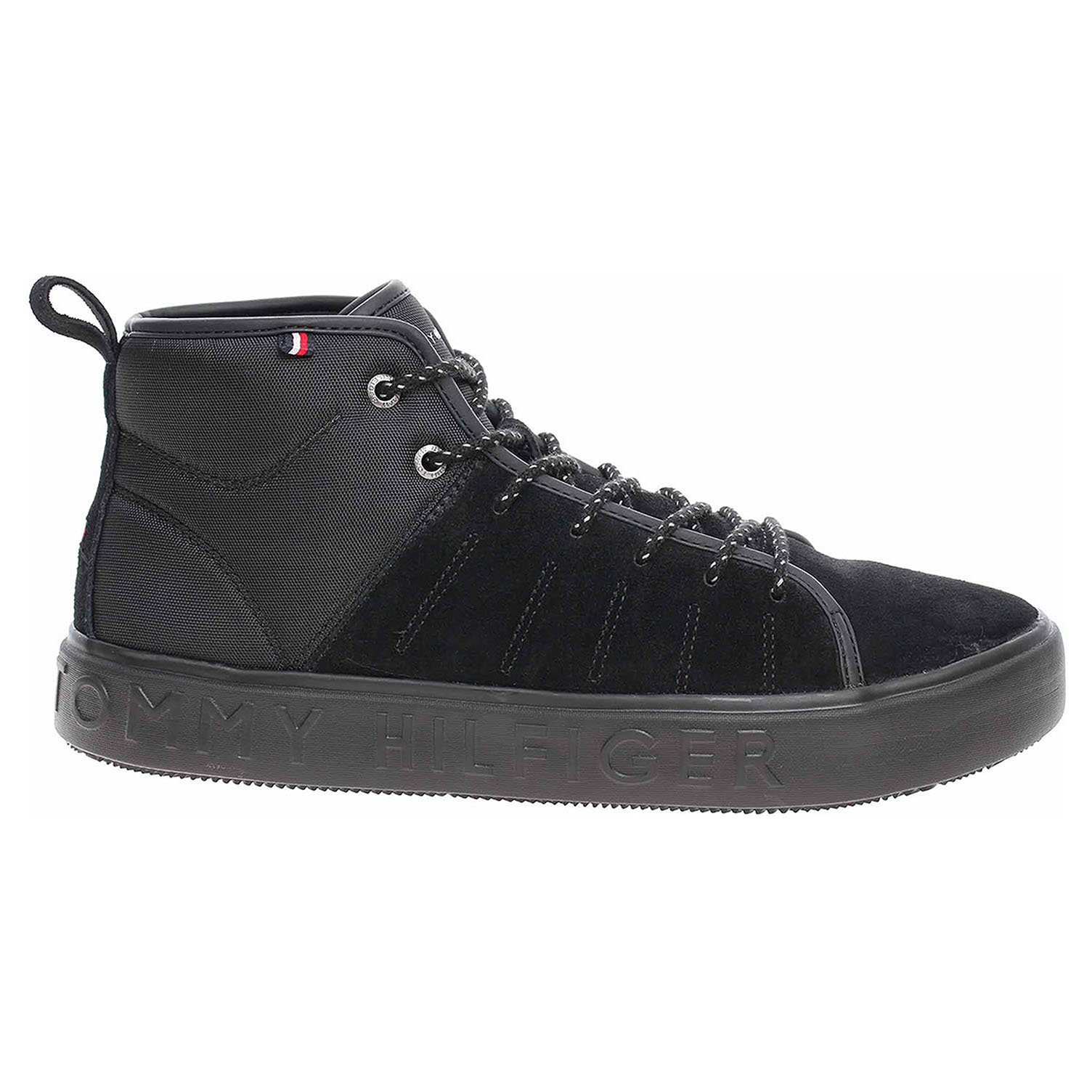 Pánská kotníková obuv Tommy Hilfiger FM0FM02393 990 black FM0FM02393 990 41