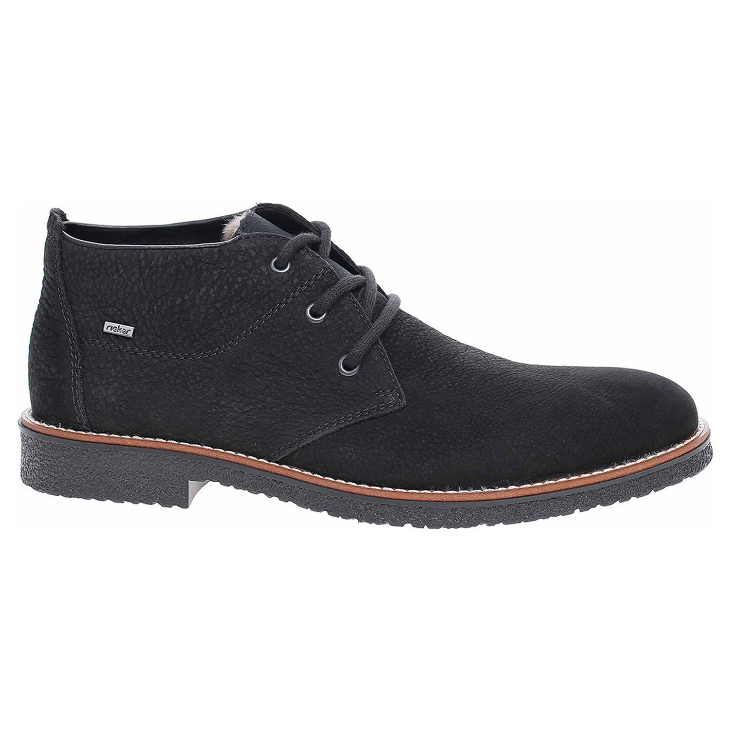 Pánská kotníková obuv Rieker 13630-00 schwarz 13630-00 40