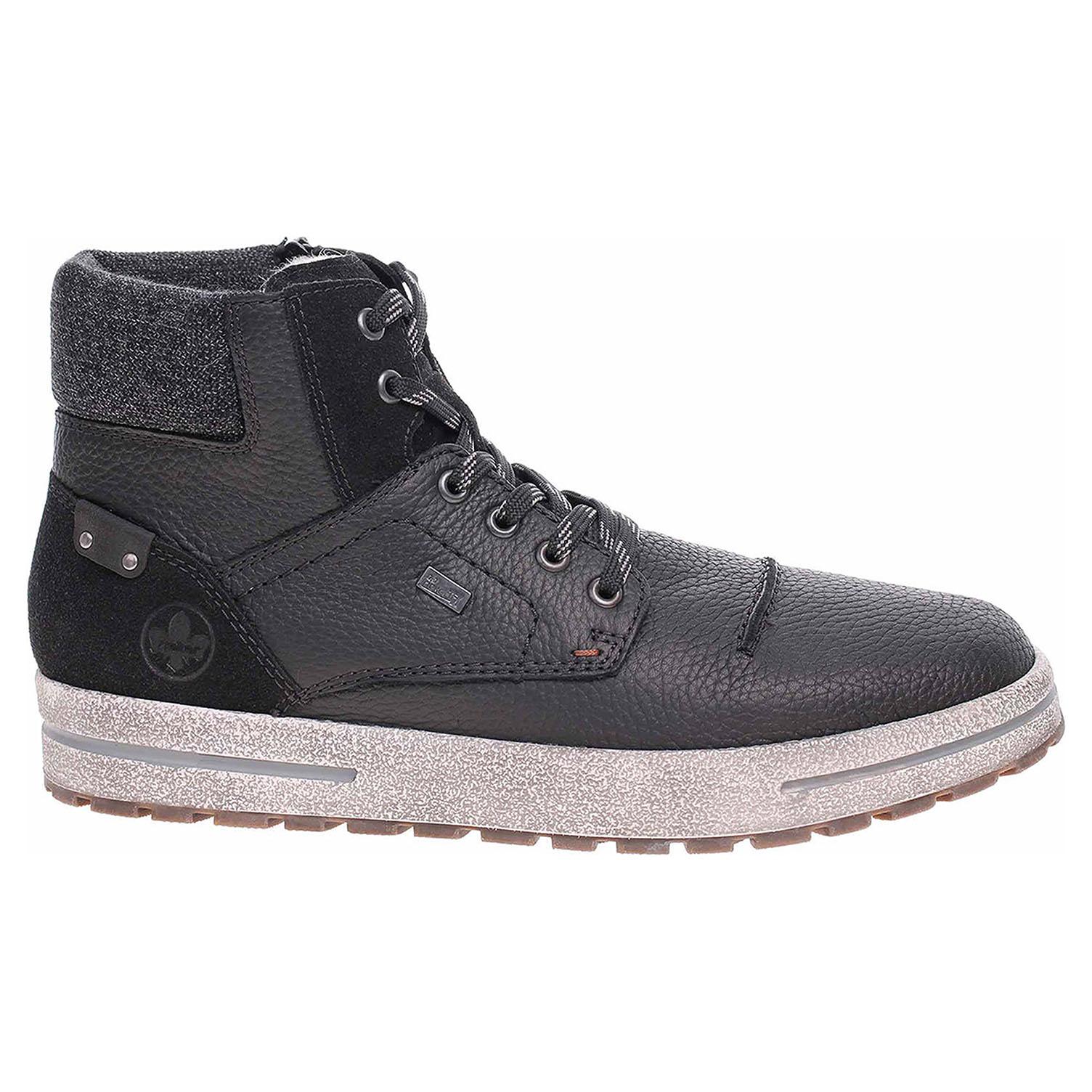 Pánská kotníková obuv Rieker 30711-02 schwarz kombi 30711-02 42