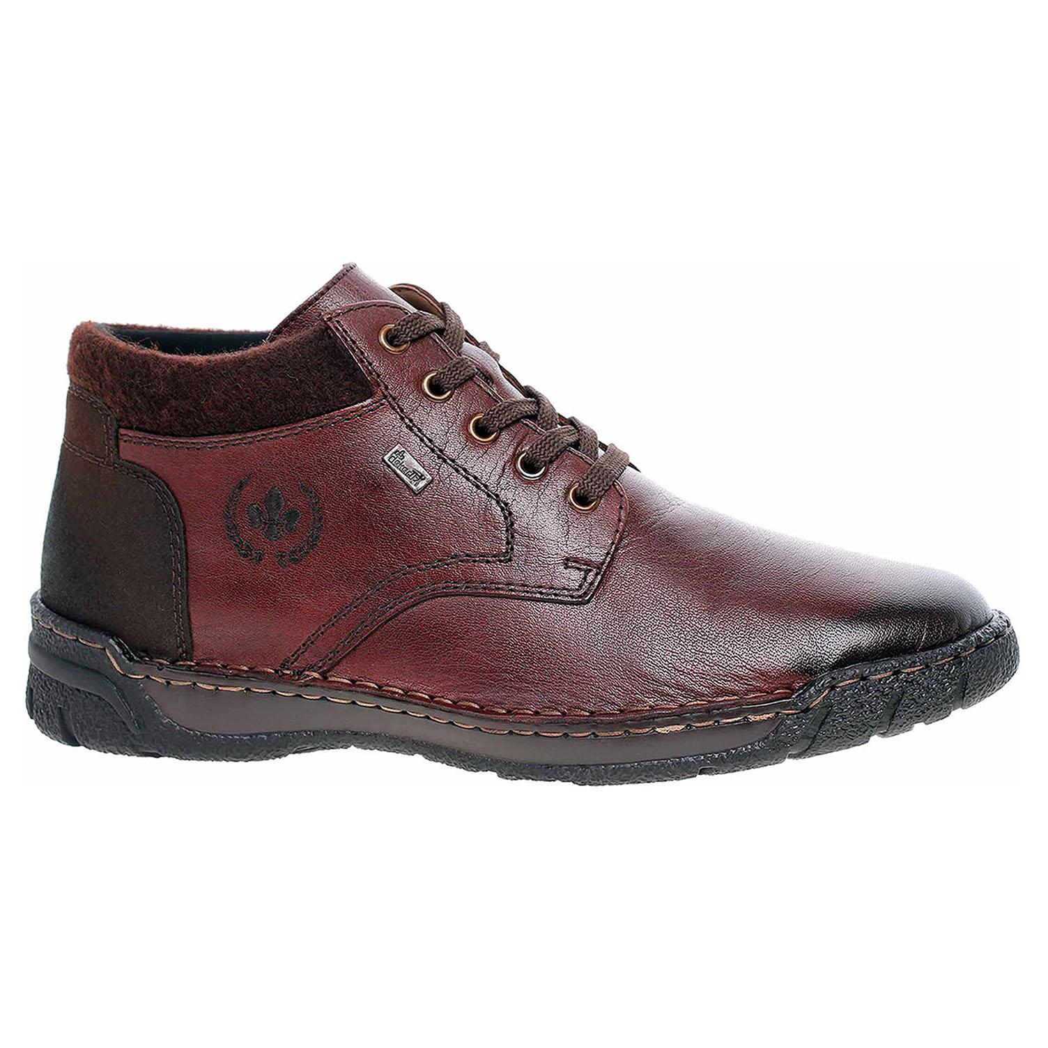 Pánská kotníková obuv Rieker B0348-25 braun B0348-25 46