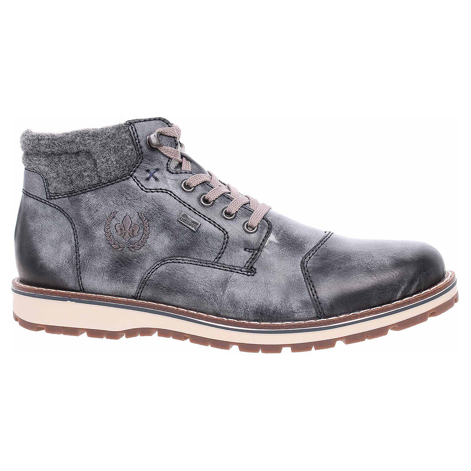 Pánská kotníková obuv Rieker 38400-14 blau 38400-14 45
