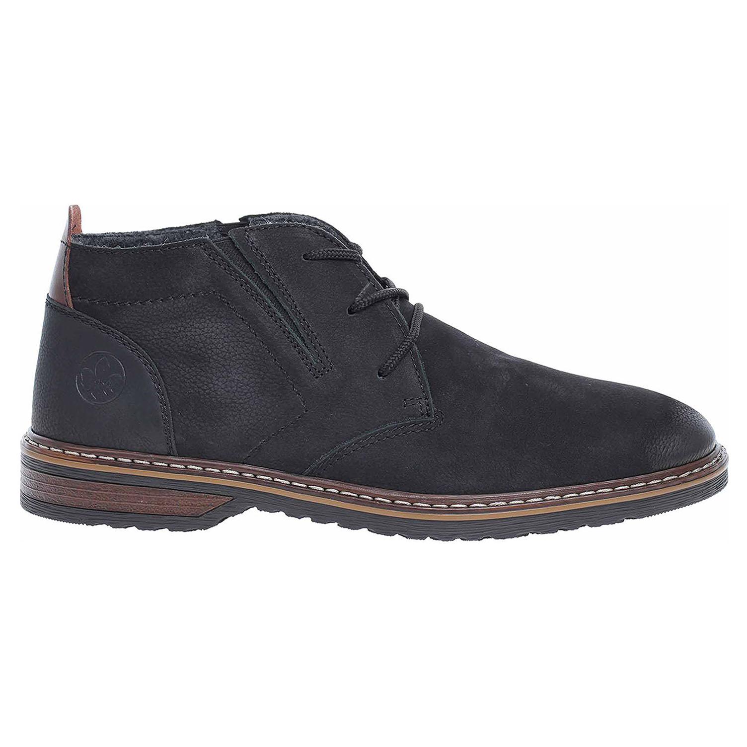Pánská kotníková obuv Rieker 13930-00 schwarz 13930-00 44