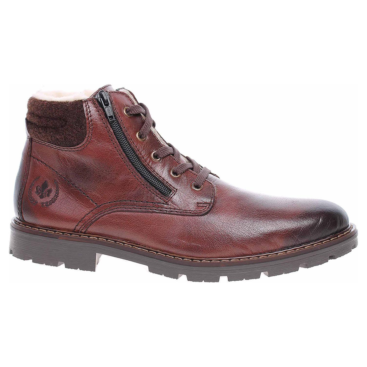 Pánská kotníková obuv Rieker 32121-25 braun 32121-25 42