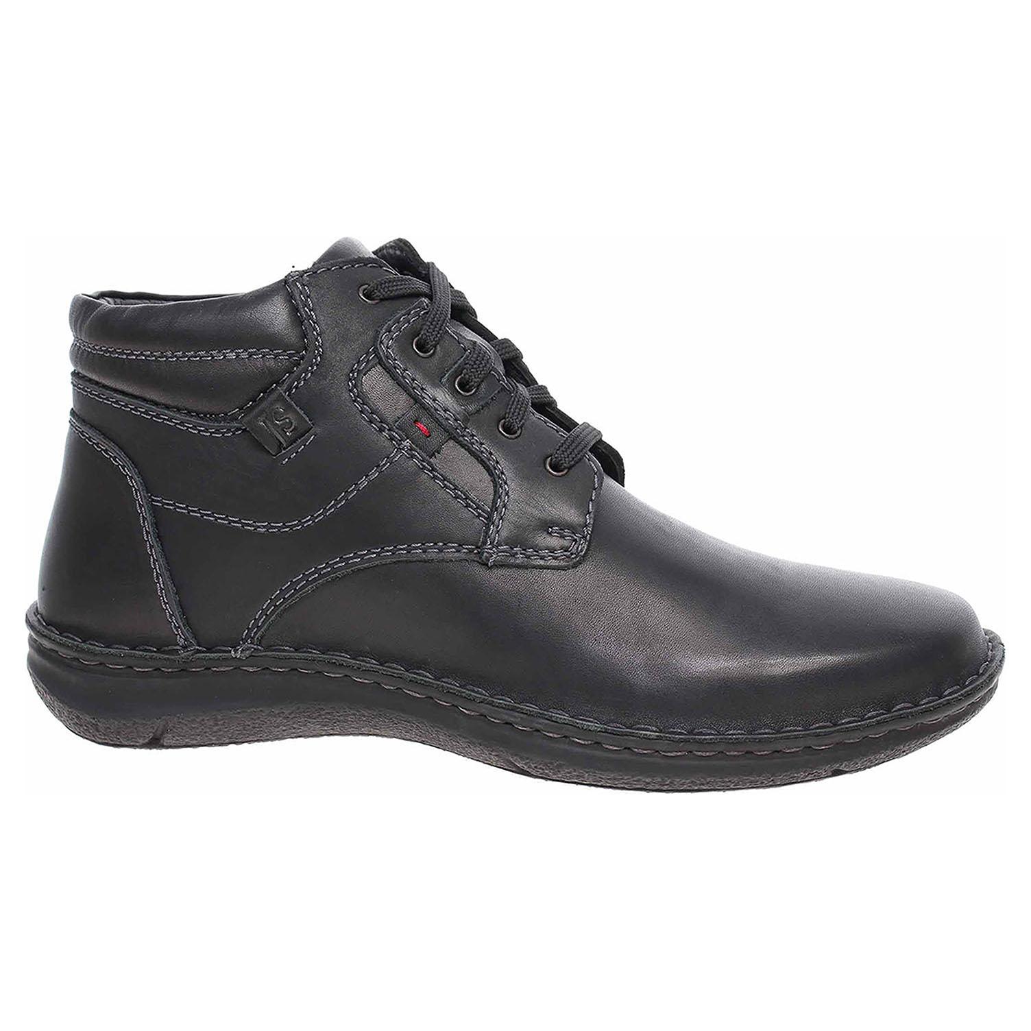 Pánská kotníková obuv Josef Seibel 43340 PL950100 schwarz 43340 PL950 100 42