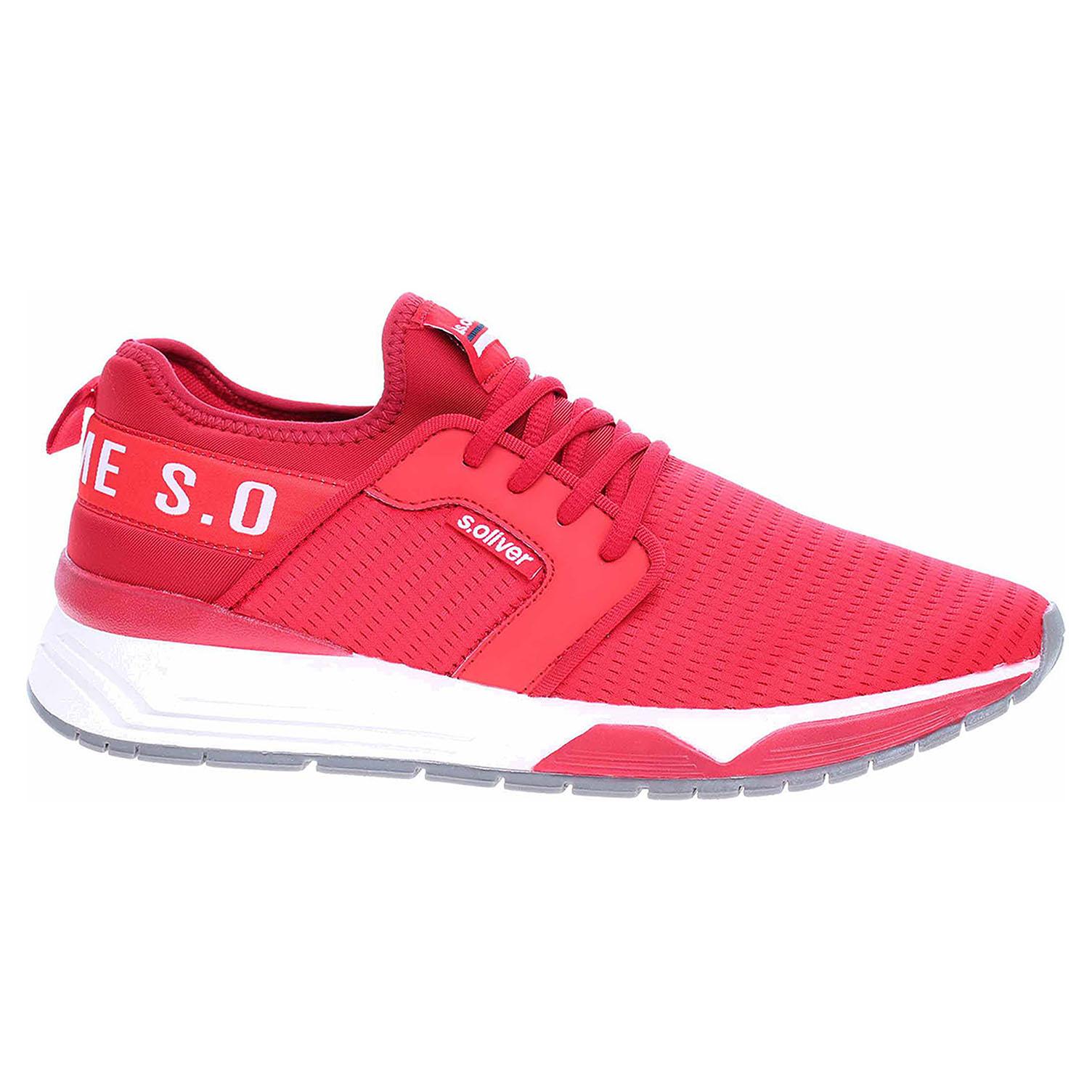 Pánská obuv s.Oliver 5-13639-24 red 5-5-13639-24 500 42