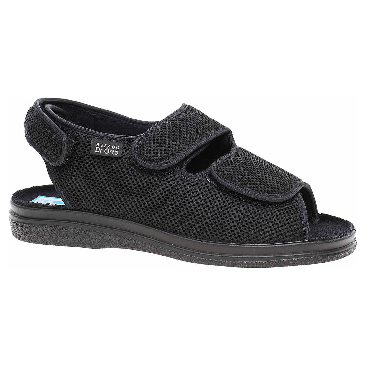 Domácí obuv Befado 733M007 černá 733M007 42