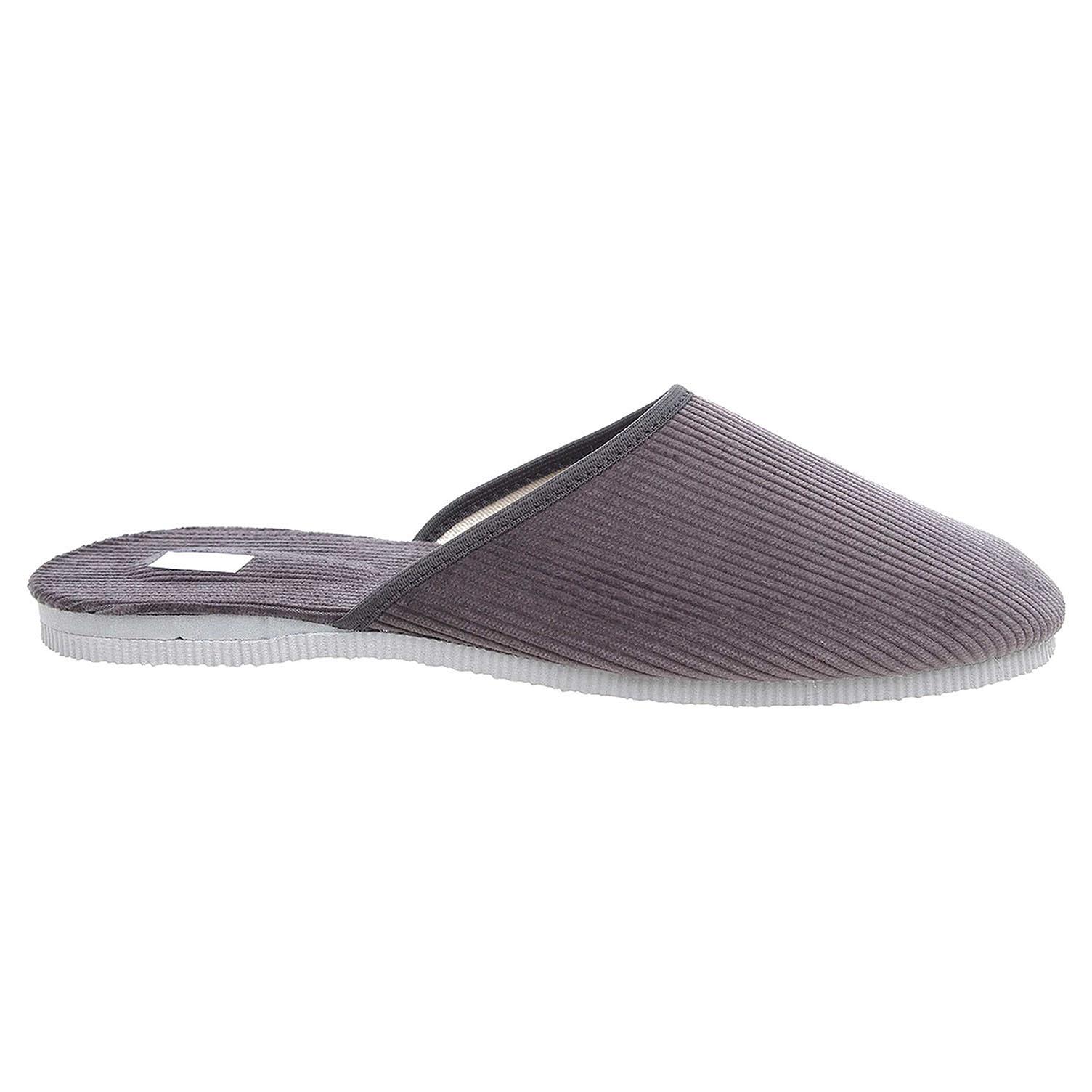 Pánské domácí pantofle 1009.00 šedá 41