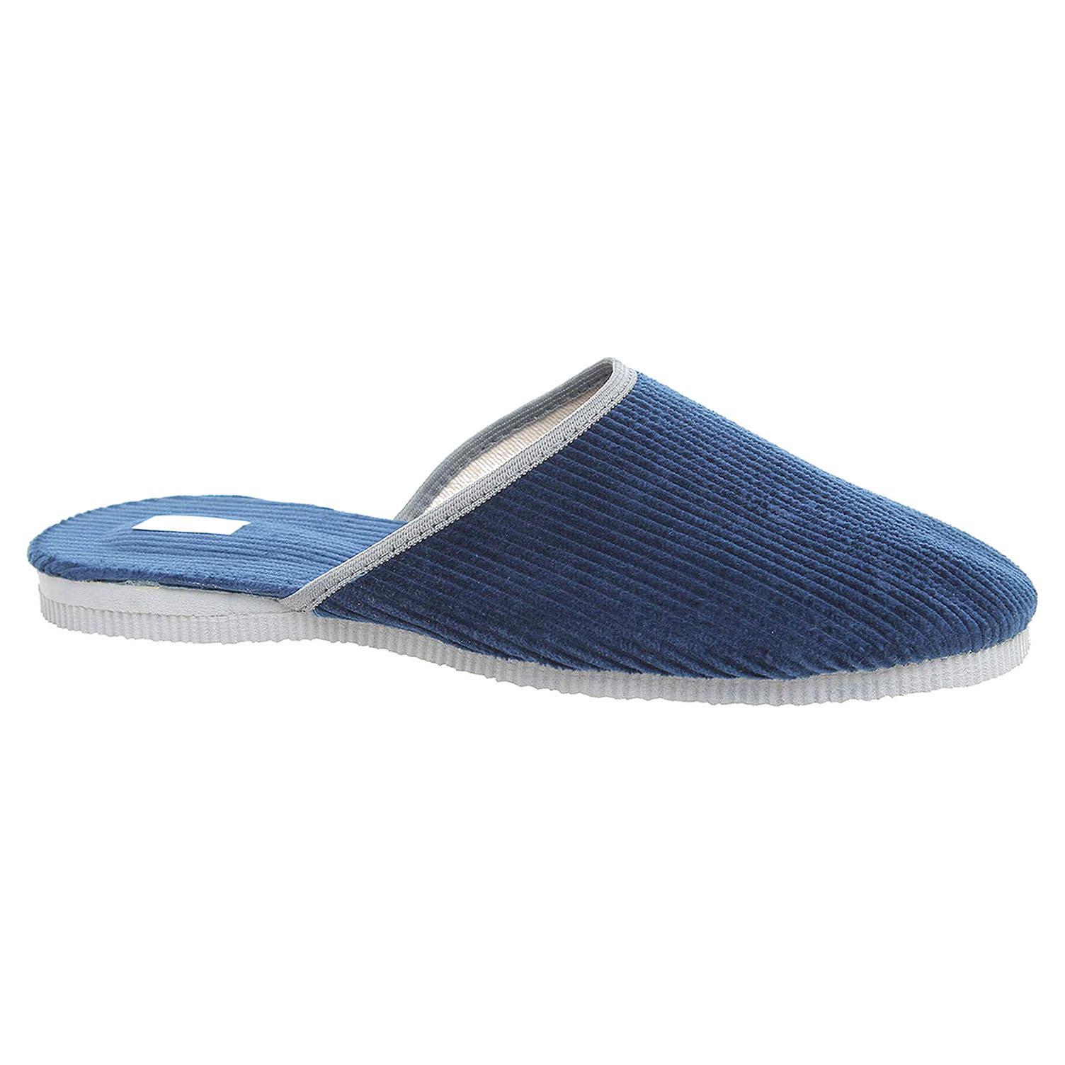 Pánské domácí pantofle Pegres 1009.00 modrá 41
