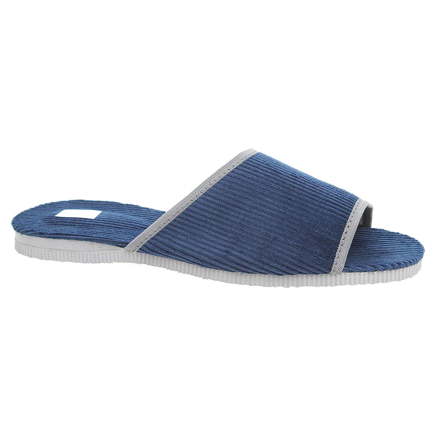 Pánské domácí pantofle 3009.00 modrá 41