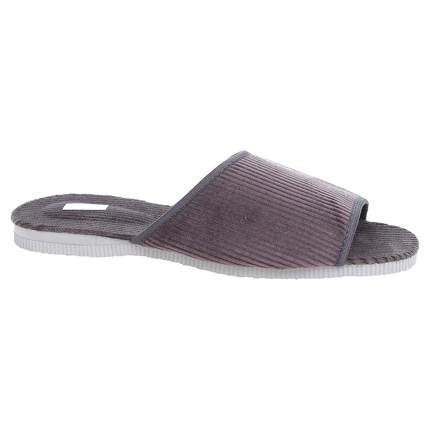 Pánské domácí pantofle 3009.00 šedé 42