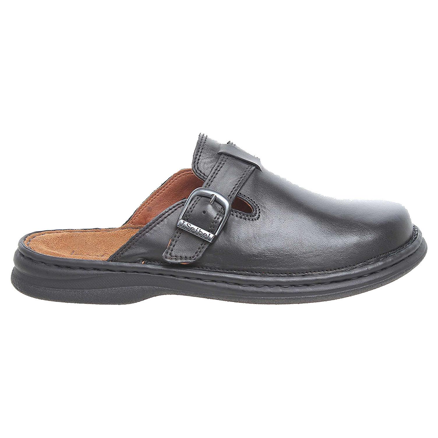 Josef Seibel pánské pantofle 10122 37600 černé 10122 37600 45