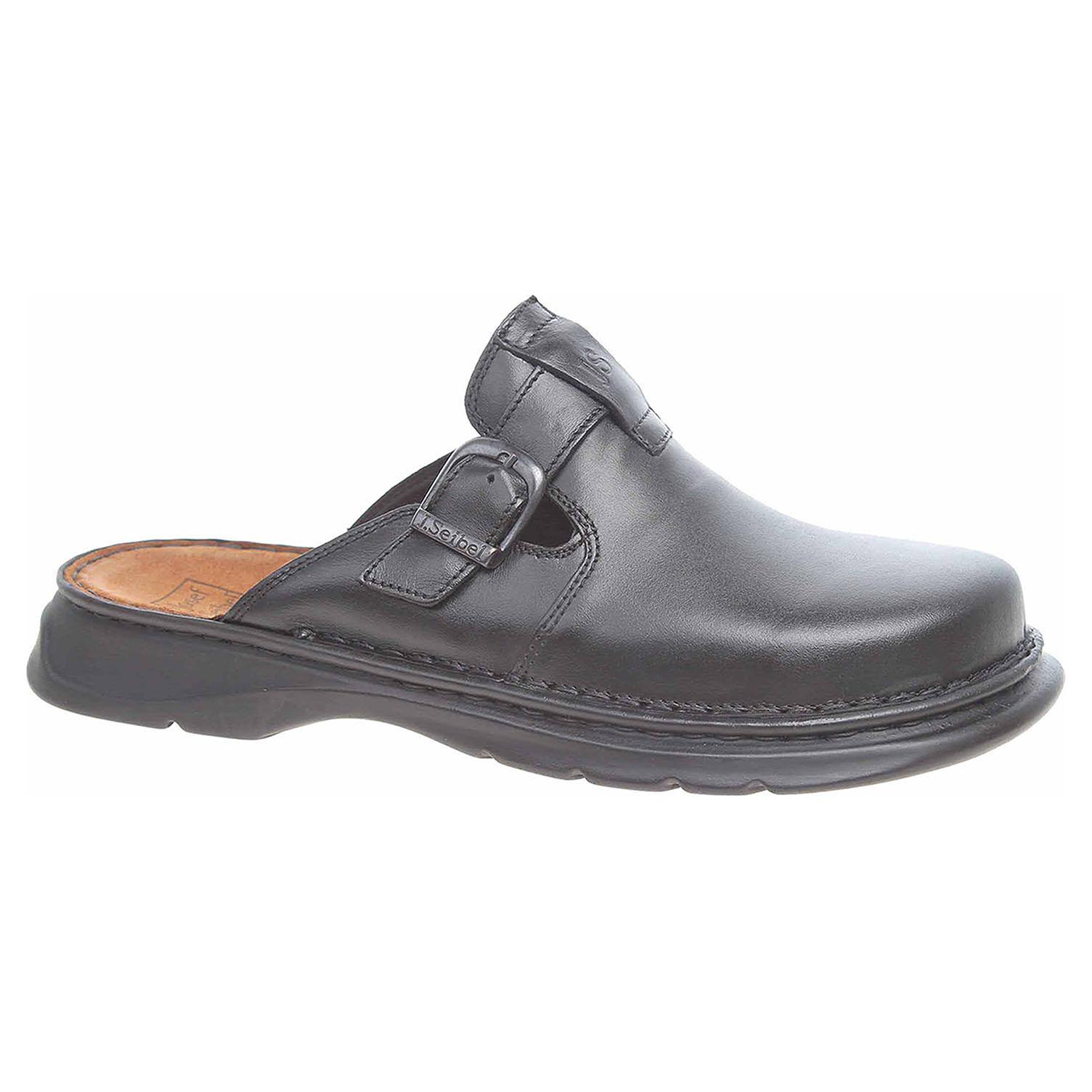 Pánské pantofle Josef Seibel 45905 23100 schwarz 45905 23100 50