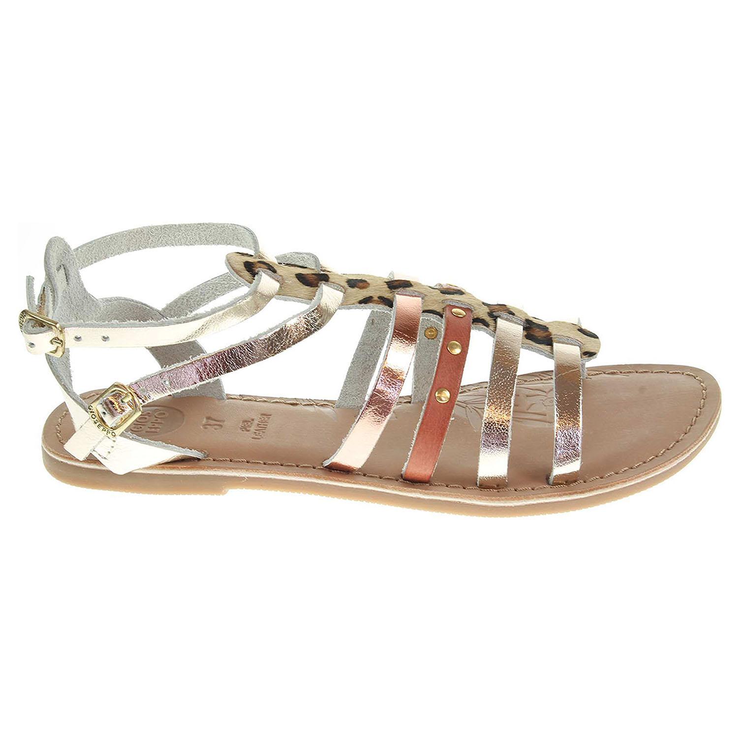 Gioseppo Toya gold dívčí sandály Toya gold 33