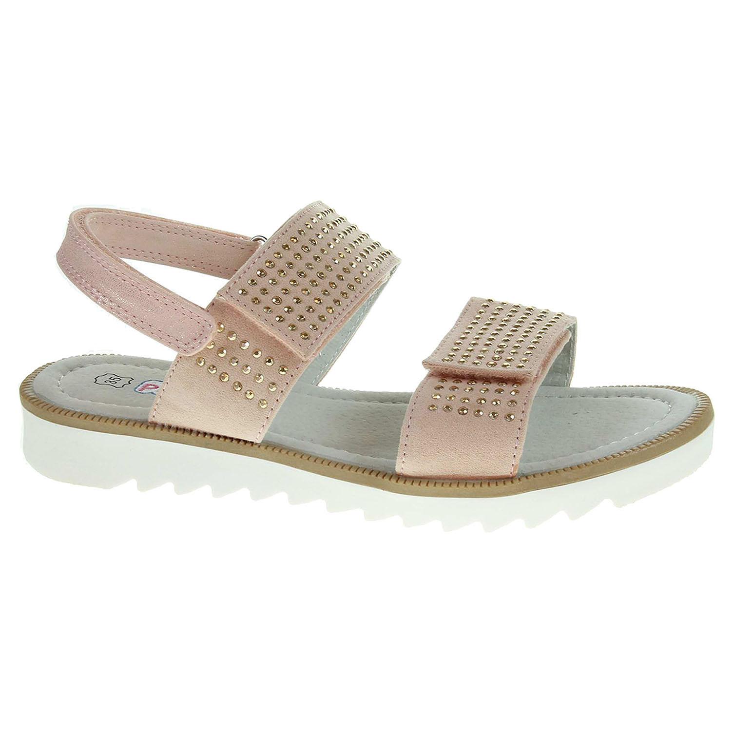 Dívčí sandály Peddy PY512-32-06 růžové 31