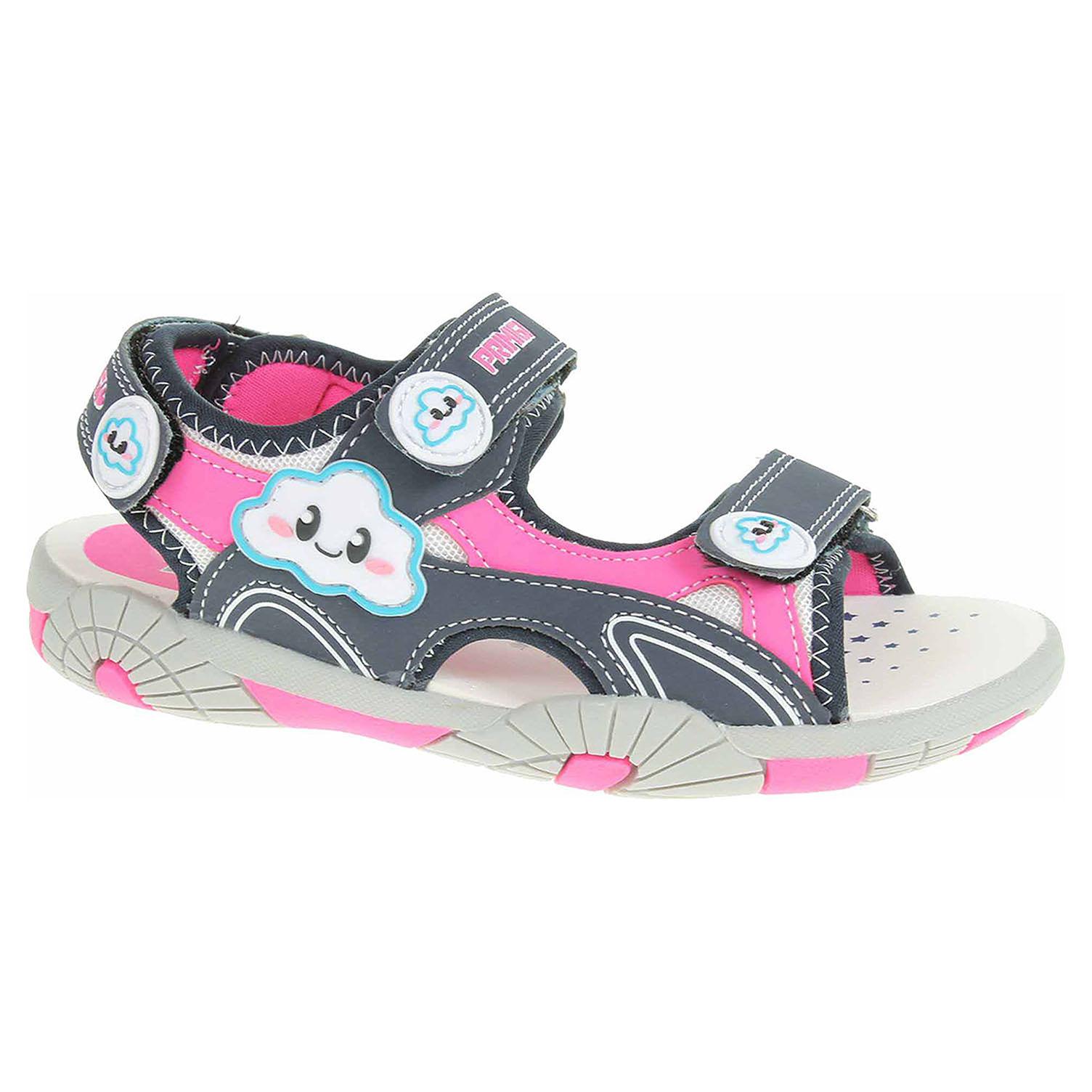 Dívčí sandály Primigi 1456000 navy-fuxia-bianco 1456000 31