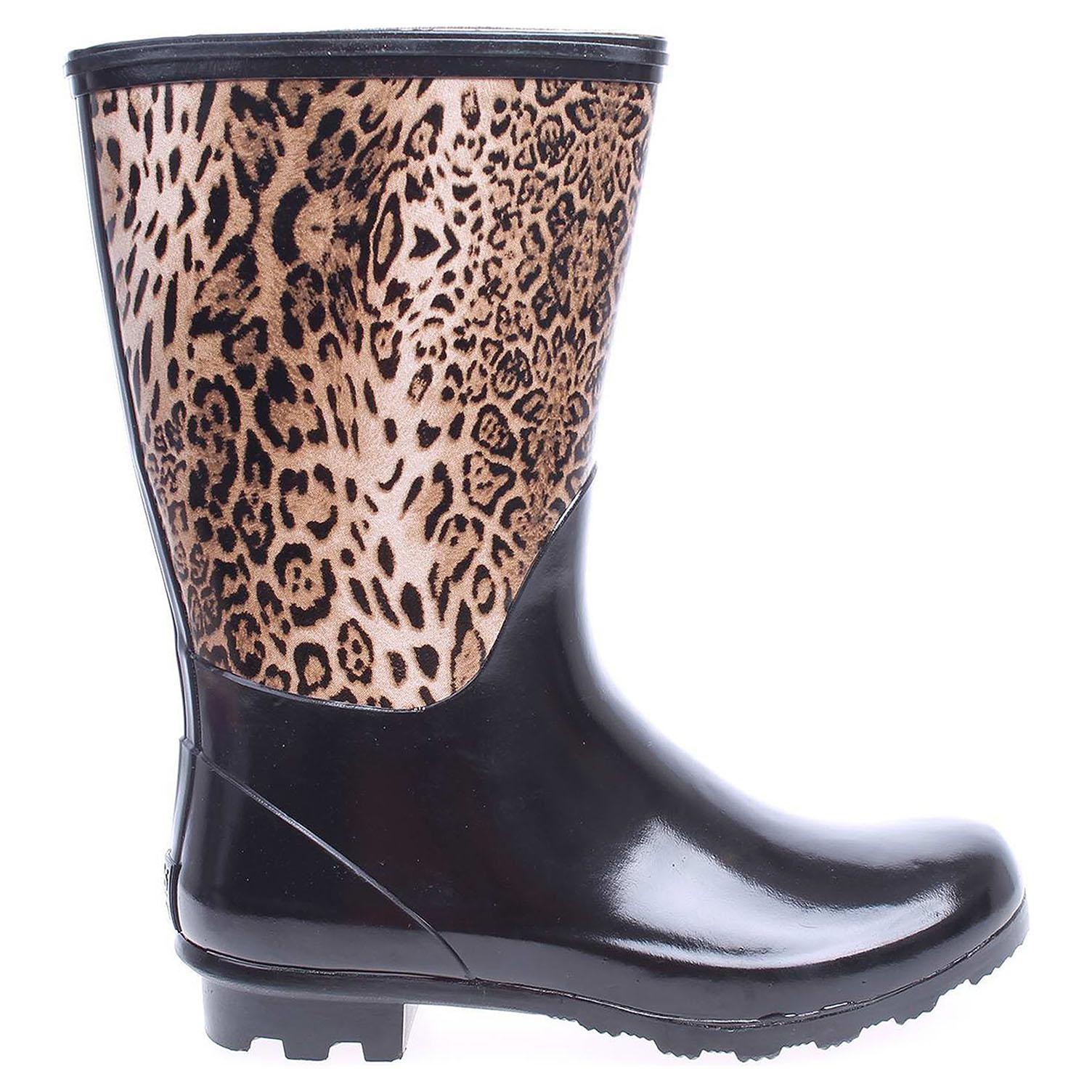 Gioseppo dívčí holinky Wetland leopard Wetland leopard 31