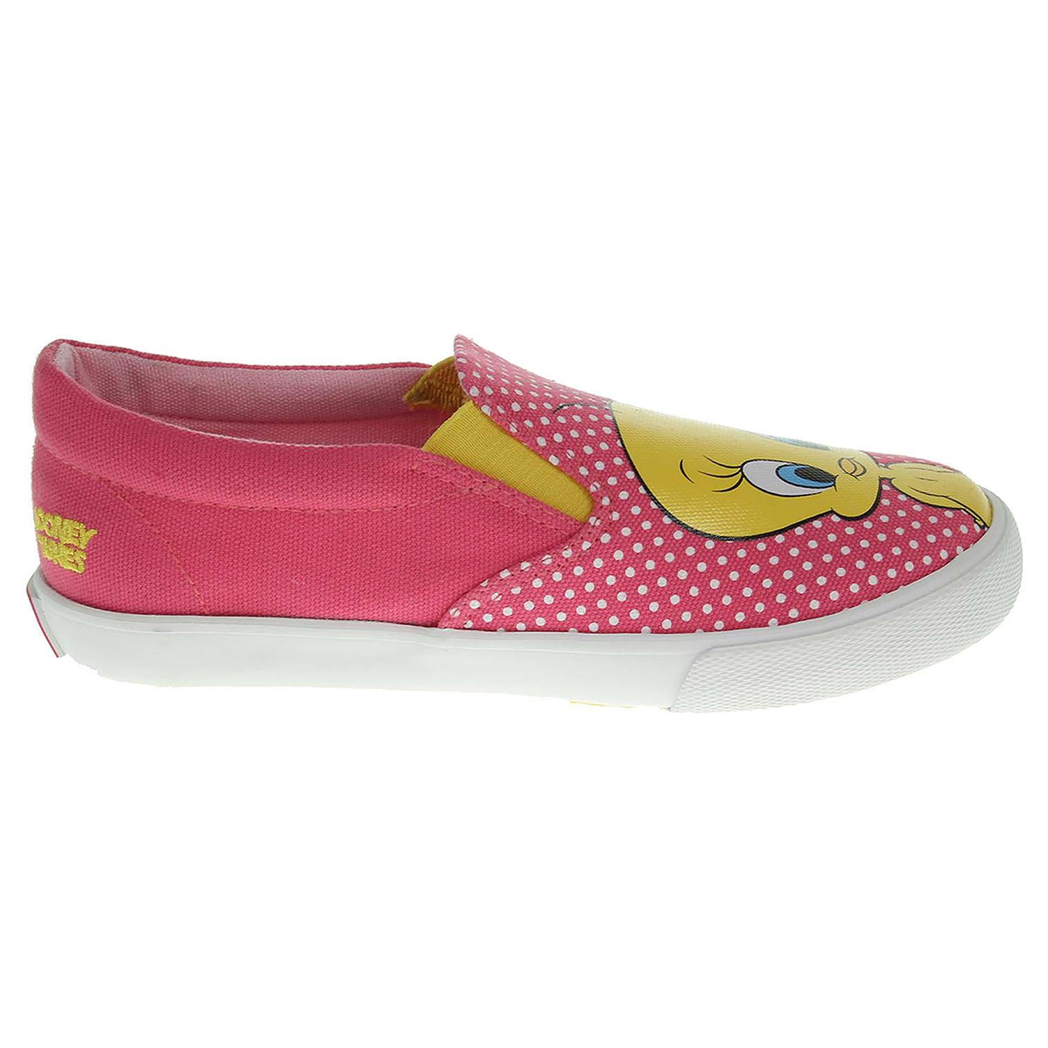 Gioseppo Looney S8 pink dívčí plátěnky Looney S8 pink 28