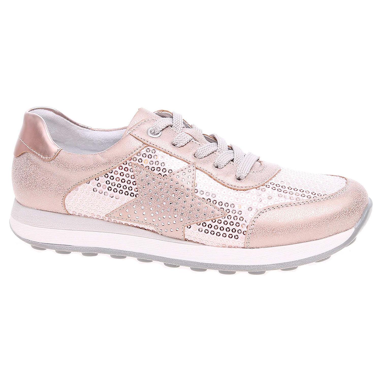 Dívčí vycházková obuv Rieker K2802-31 růžové 33