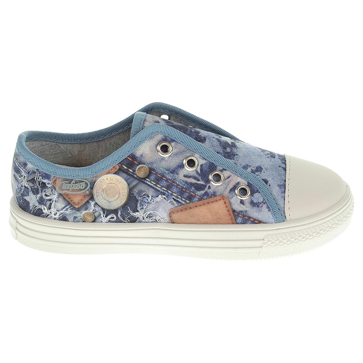 Befado chlapecká obuv 411X014 modrá 411X014 28