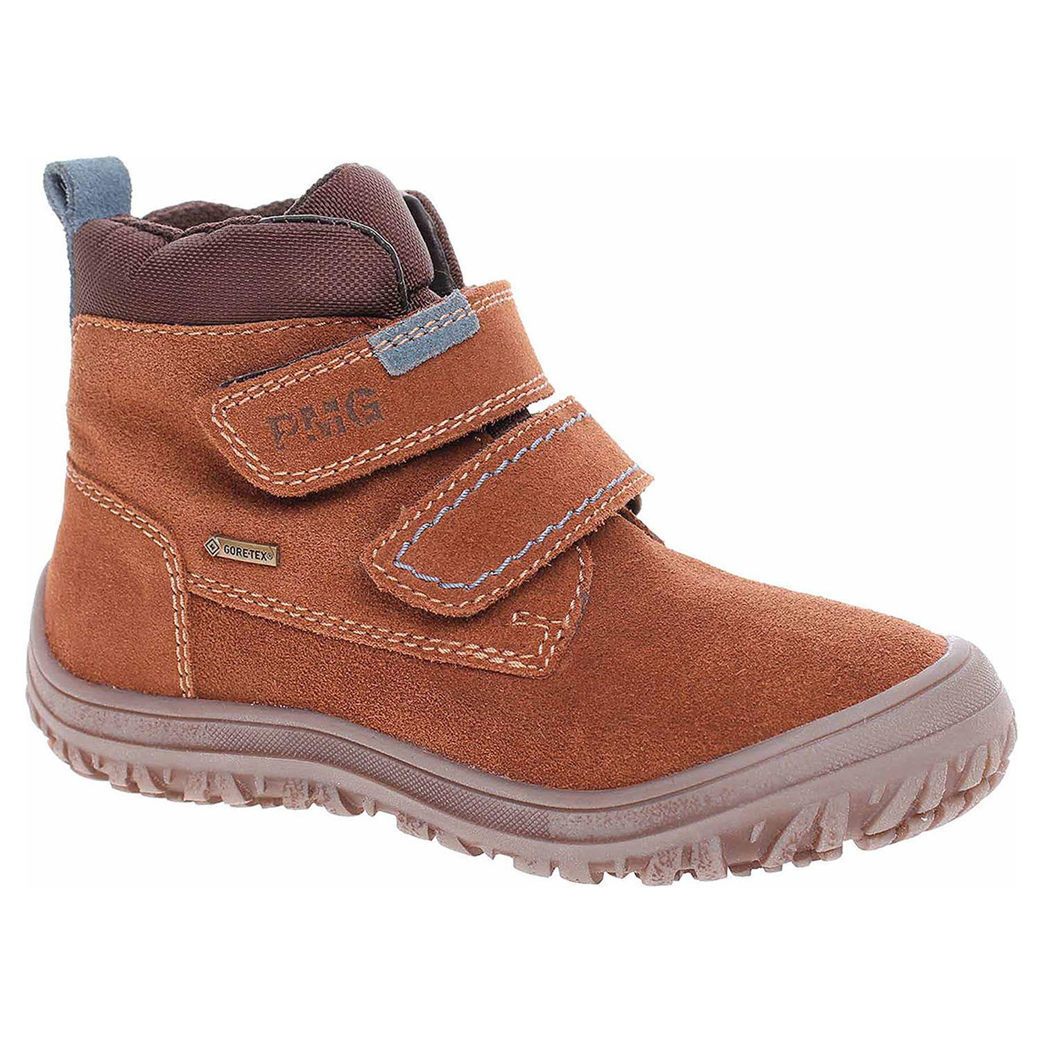 Chlapecká kotníková obuv Primigi 8183277 hnědé 8183277 35