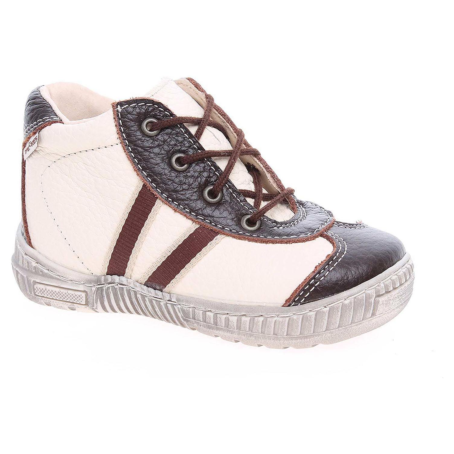 Chlapecká kotníková obuv Pegres 1400.00 hnědá-béžová 1400.00 písková 21