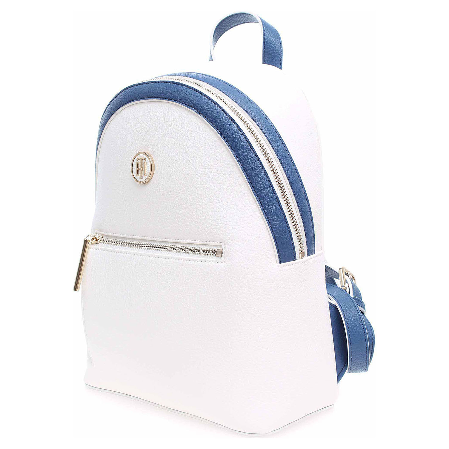 Tommy Hilfiger dámský batůžek AW0AW05122 902 bright white-dutch blue