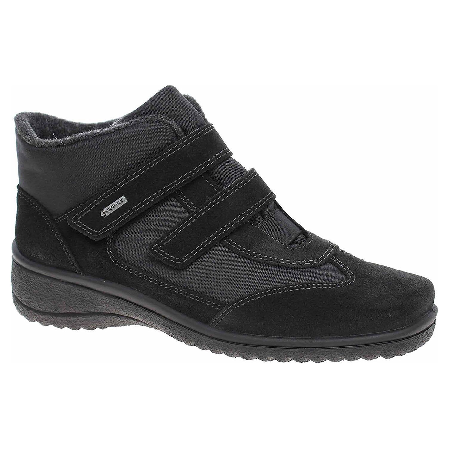 f6dc212236aa7 Dámska členkové topánky Ara 48518-61 schwarz   REJNOK obuv
