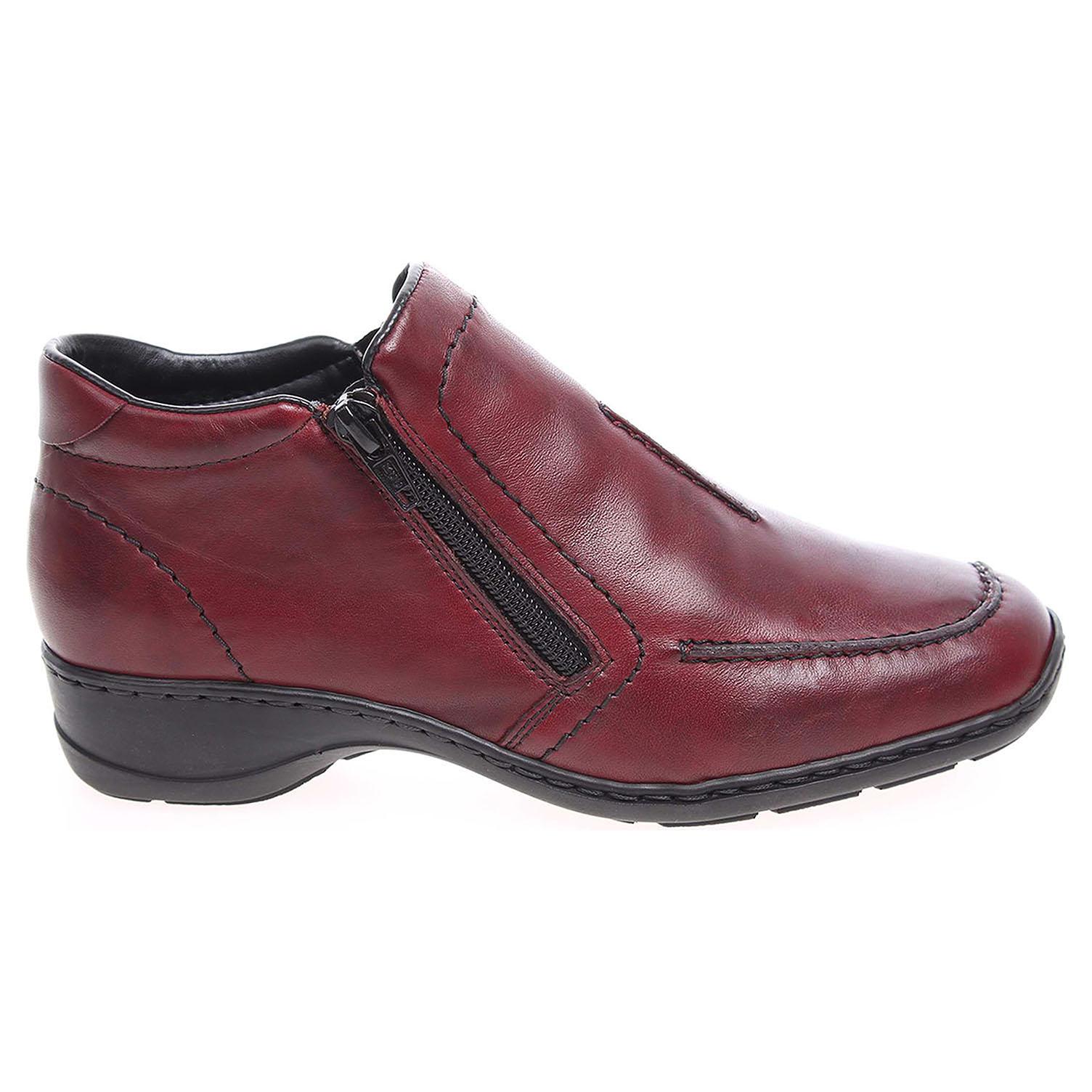 Rieker dámská obuv 58386-35 rot  c4e741328f