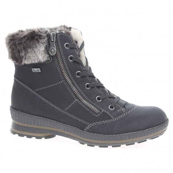 b9a621e77e detail Dámska členkové topánky Rieker Z2431-00 schwarz kombi