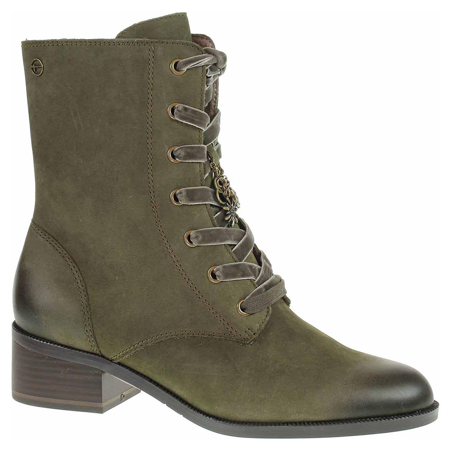 2984eaeca135c Dámska členkové topánky Tamaris 1-25151-31 forest | REJNOK obuv
