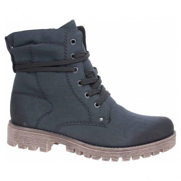 be09ba829e detail Dámska členkové topánky Rieker 78534-14 blau