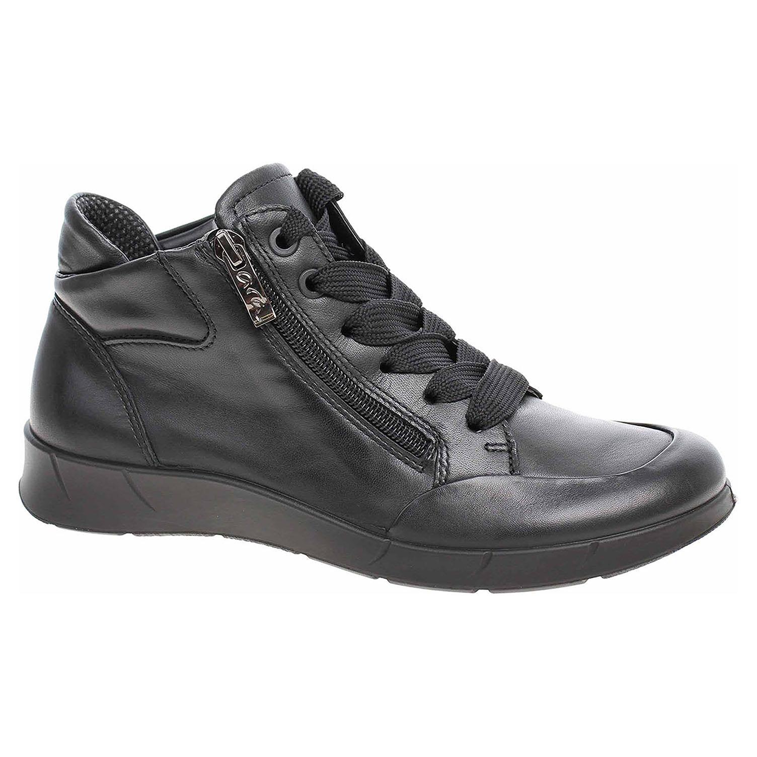 f4ccf399f3a8f Dámska členkové topánky Ara 12-49803-01 schwarz   REJNOK obuv