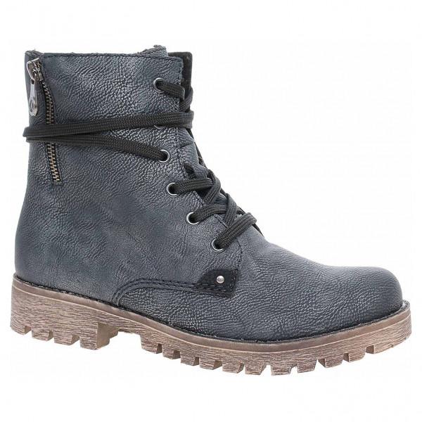 a4482b77c3 detail Dámska členkové topánky Rieker 785G9-14 blau