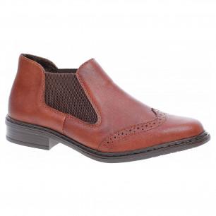8d49bc392b0fa Dámska členkové topánky Tamaris 1-25113-27 hnědé | REJNOK obuv