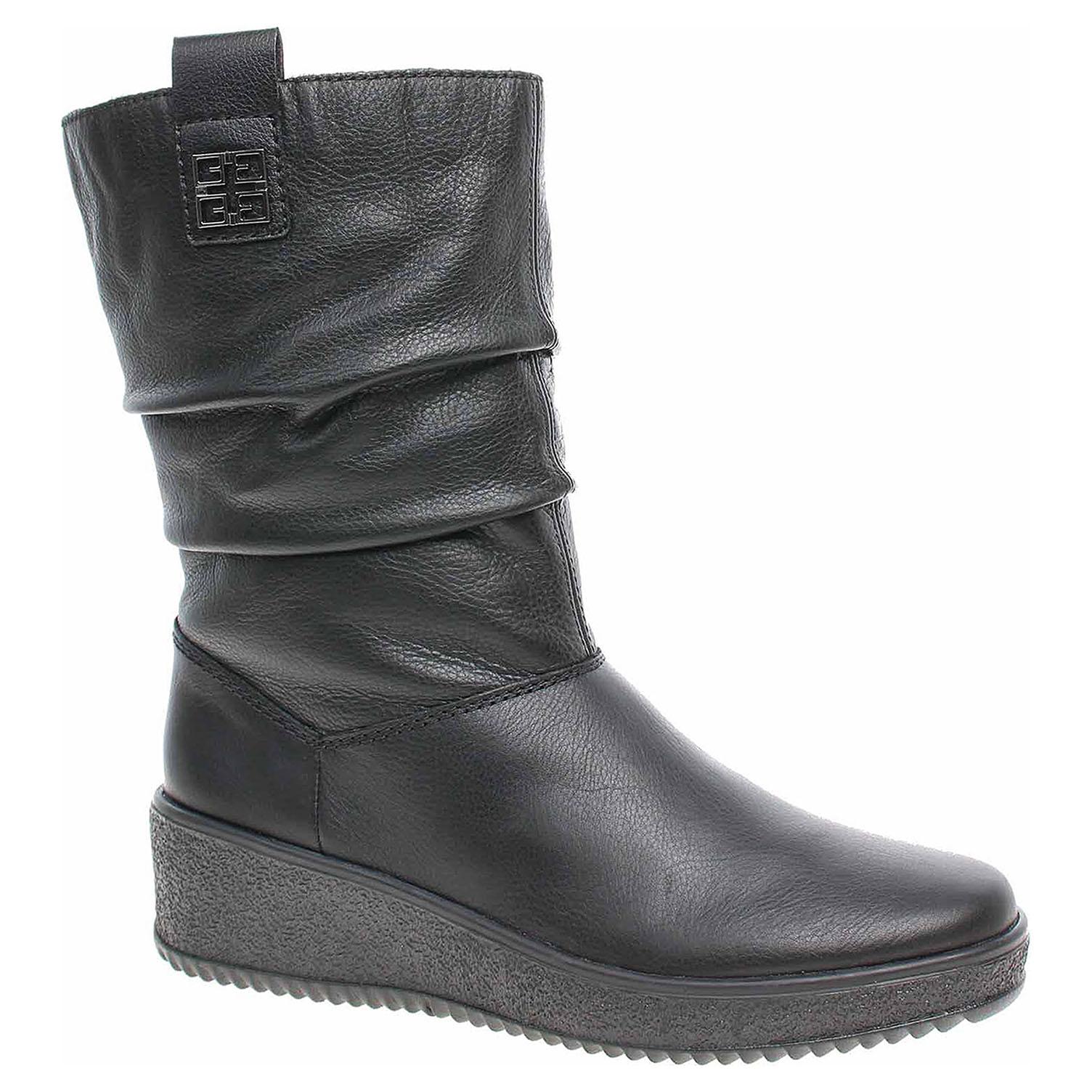 4b45ca6bbf597 Dámske čižmy Rieker Y4473-00 schwarz   REJNOK obuv